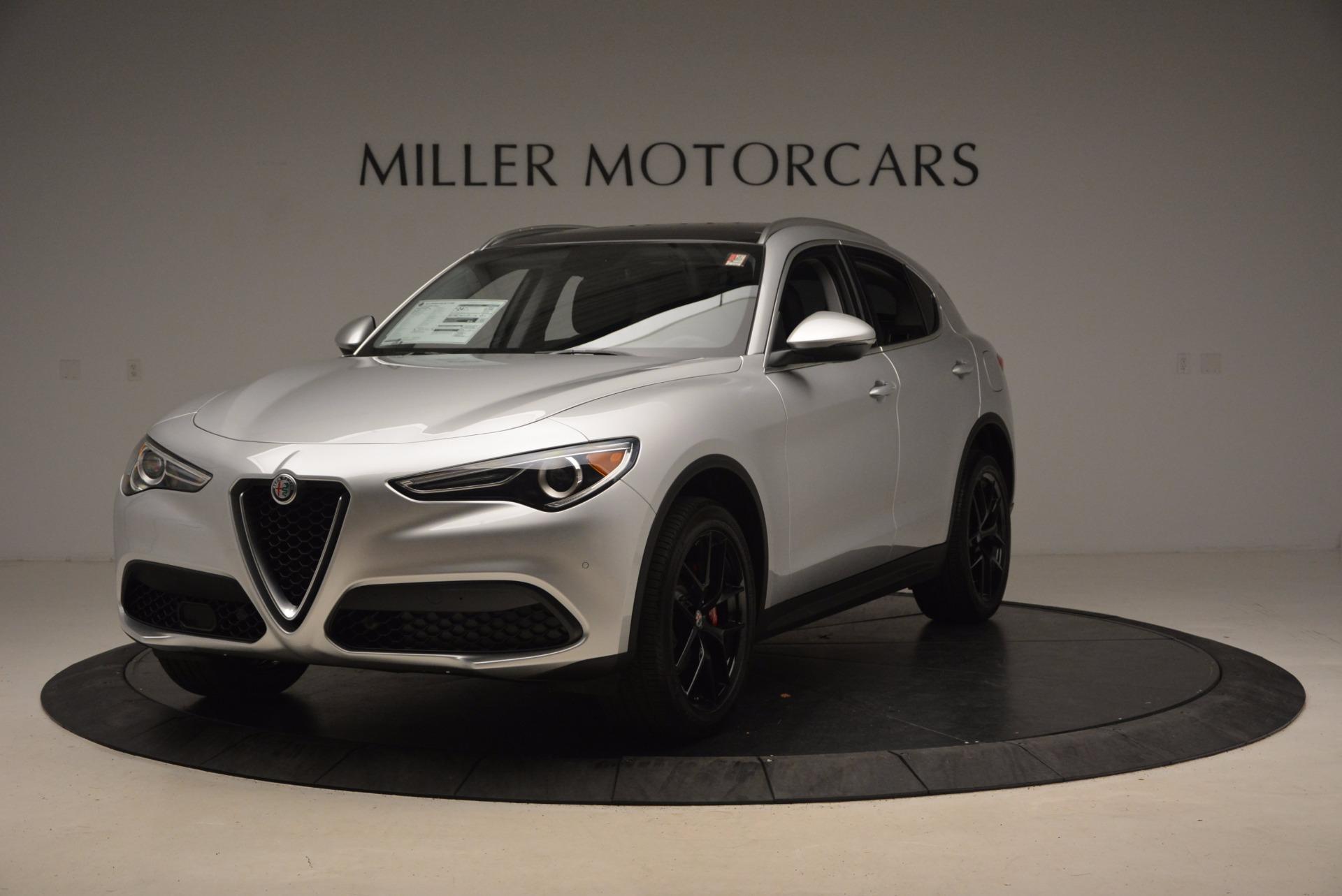 New 2018 Alfa Romeo Stelvio Ti Q4 For Sale In Greenwich, CT 1606_main