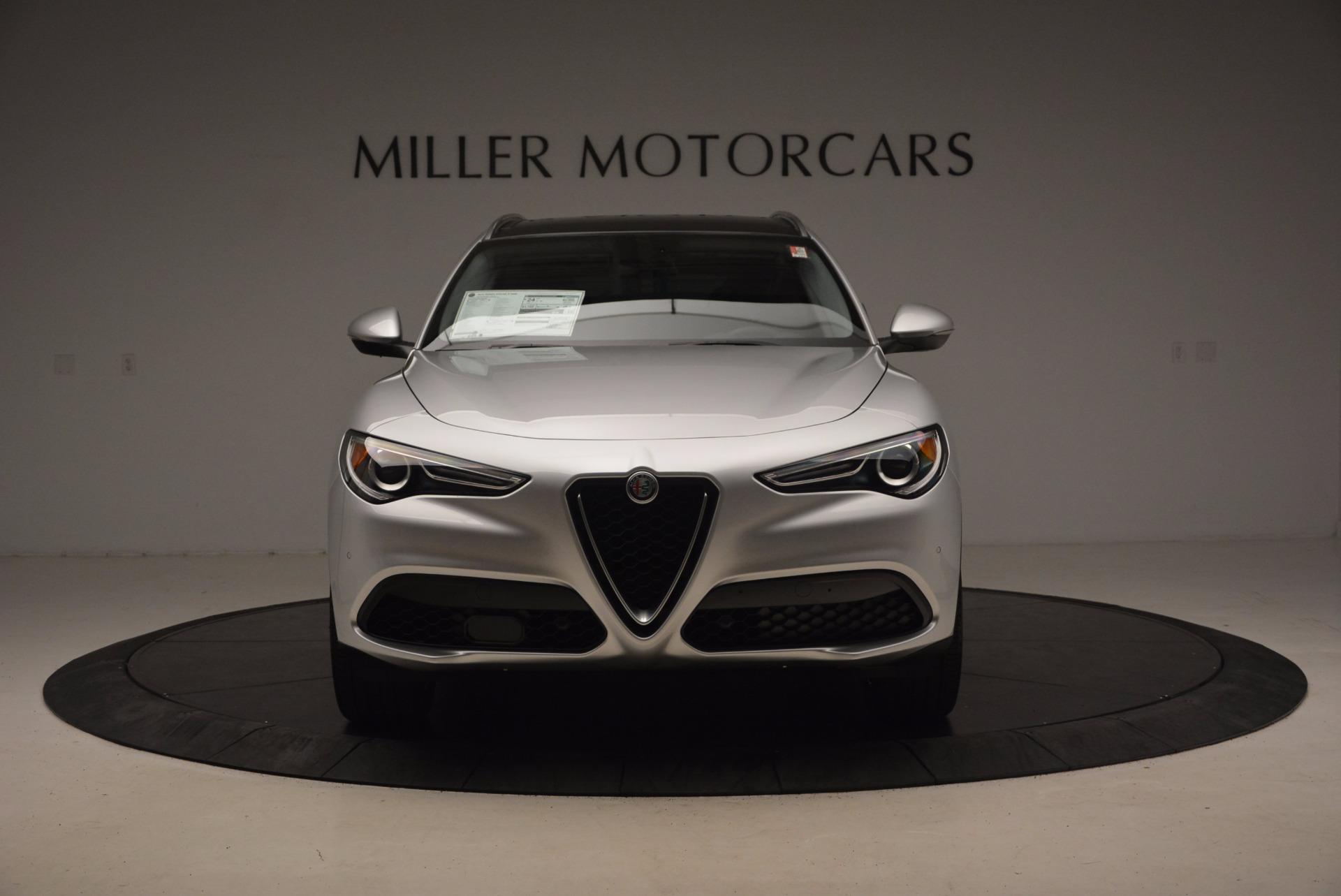 New 2018 Alfa Romeo Stelvio Ti Q4 For Sale In Greenwich, CT 1606_p12