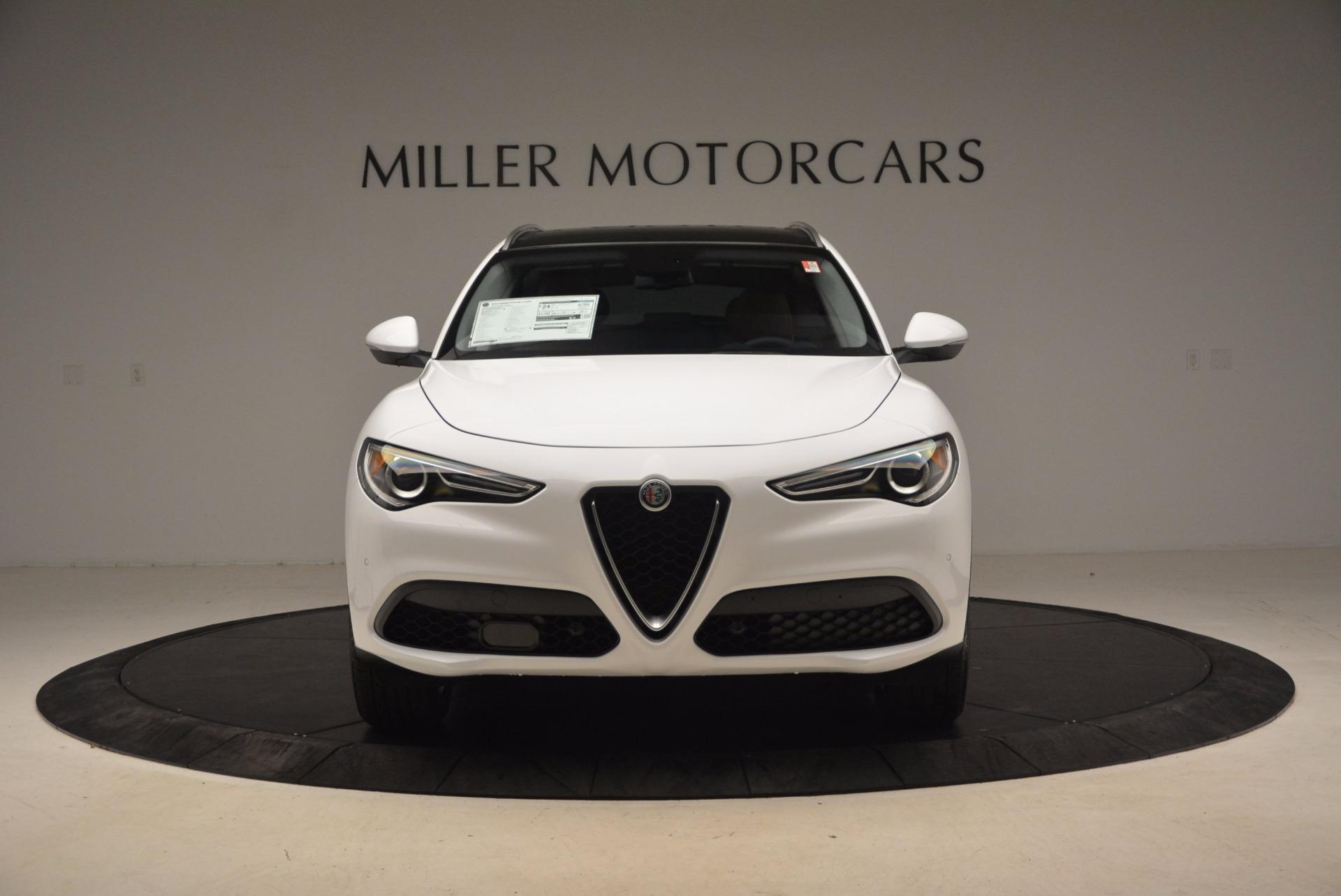 New 2018 Alfa Romeo Stelvio Ti Q4 For Sale In Greenwich, CT 1607_p12