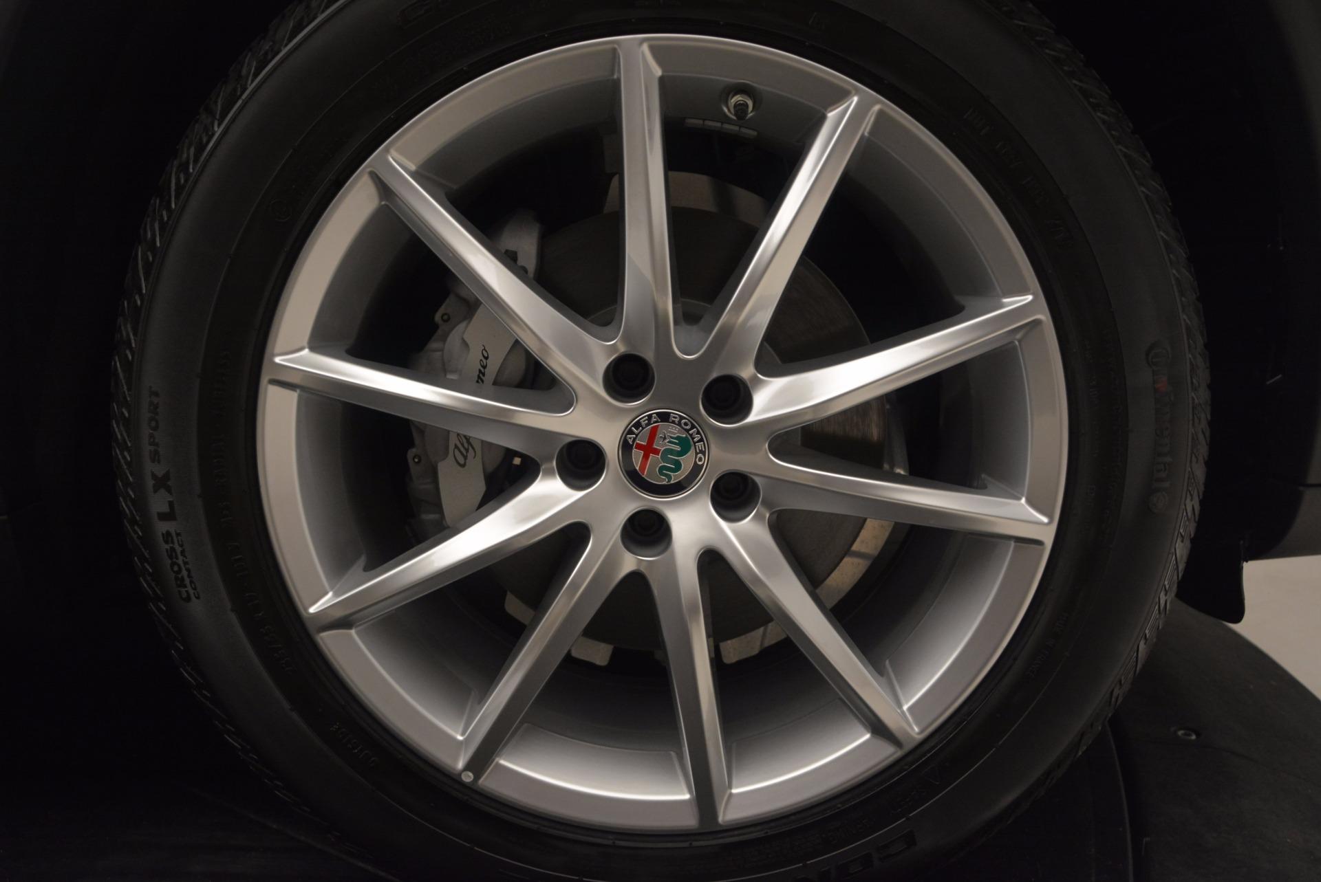 New 2018 Alfa Romeo Stelvio Ti Q4 For Sale In Greenwich, CT 1607_p25
