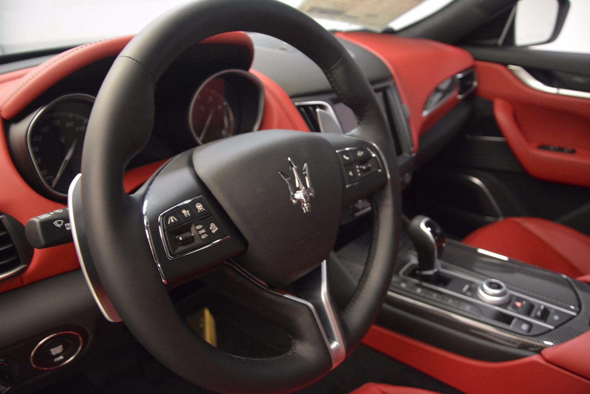 New 2018 Maserati Levante S Q4 GranLusso For Sale In Greenwich, CT 1613_p14