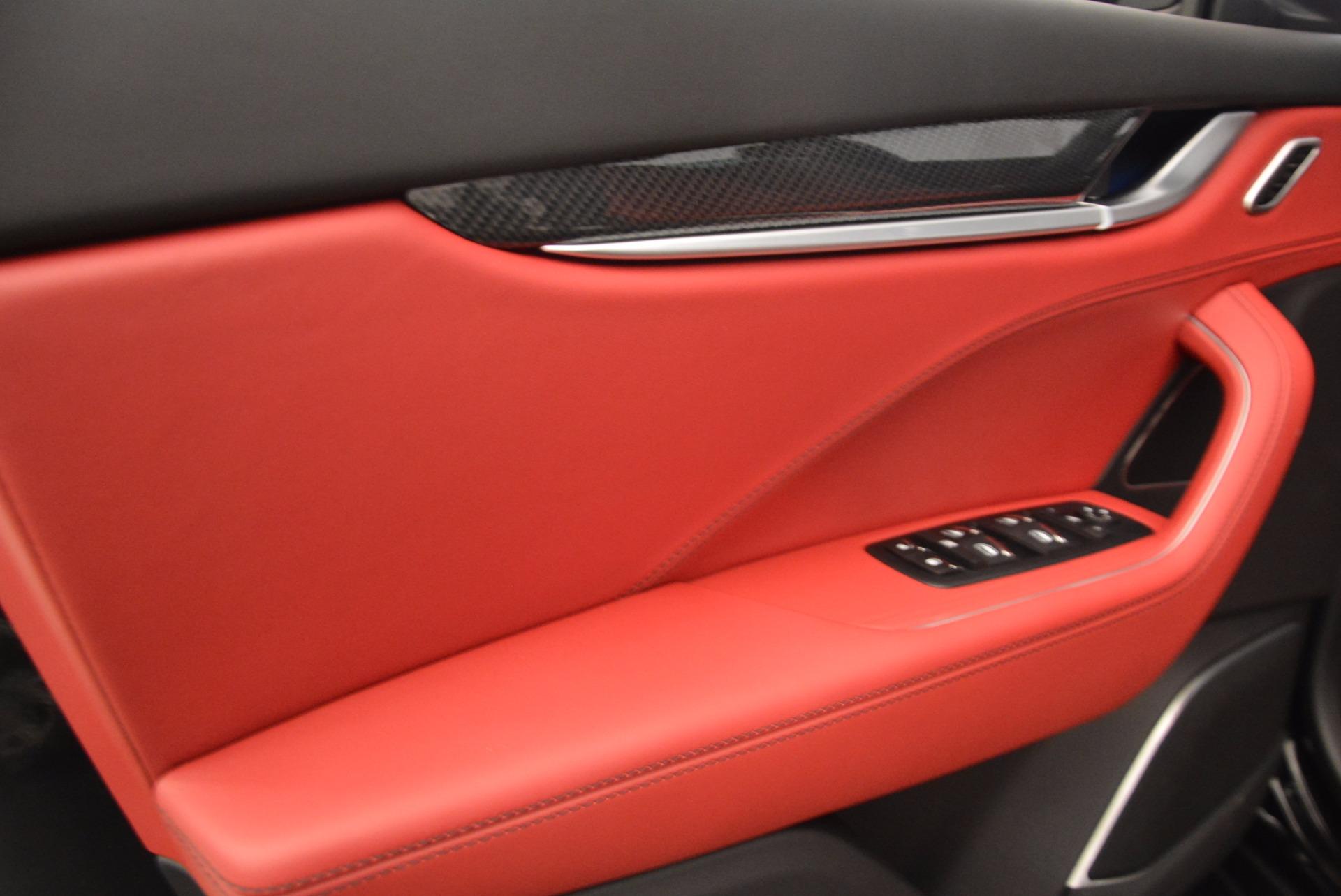 New 2018 Maserati Levante S Q4 GranLusso For Sale In Greenwich, CT 1613_p17