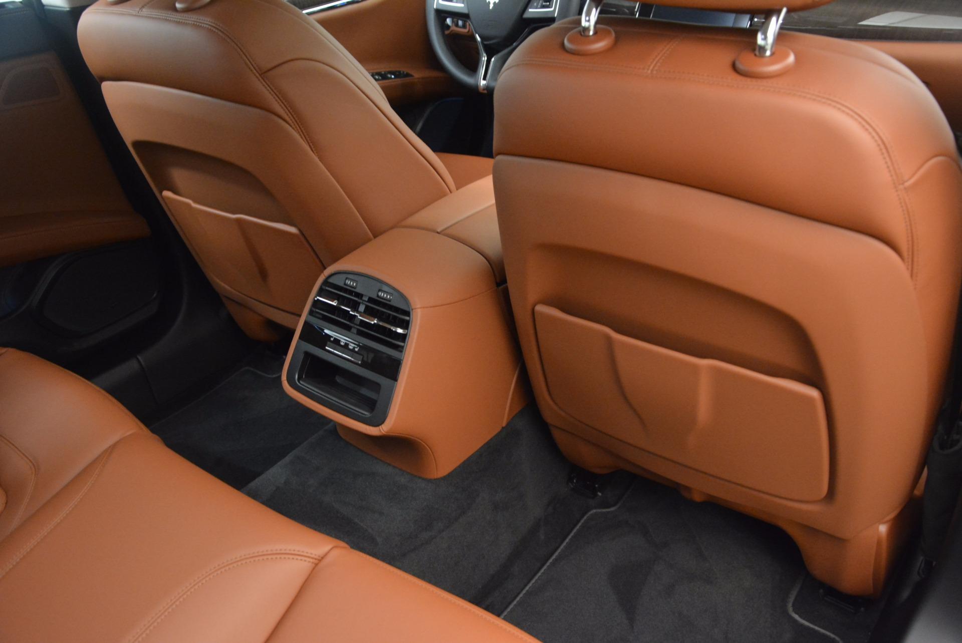 New 2018 Maserati Quattroporte S Q4 GranLusso For Sale In Greenwich, CT 1614_p22