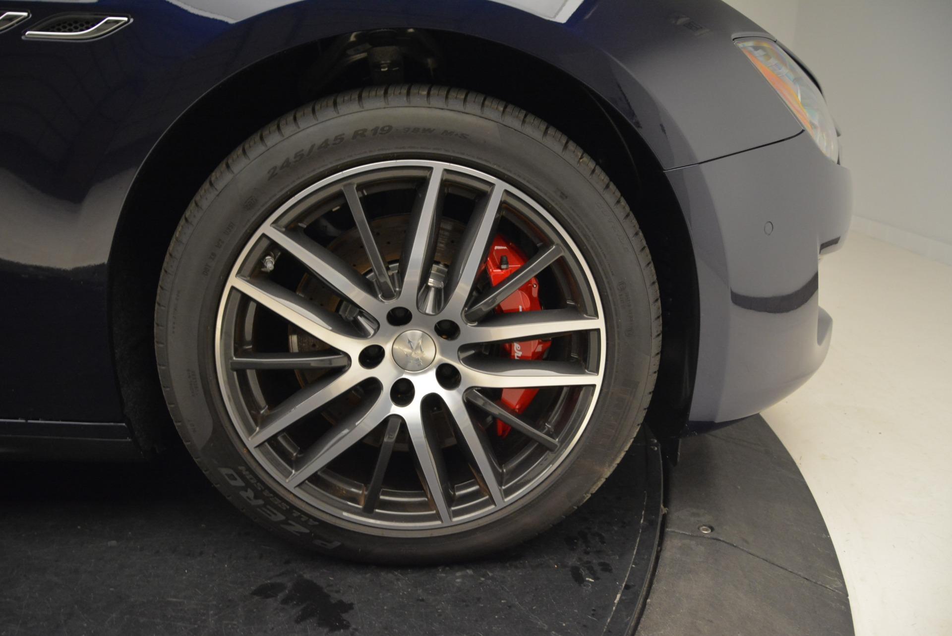 New 2018 Maserati Ghibli S Q4 For Sale In Greenwich, CT 1615_p27
