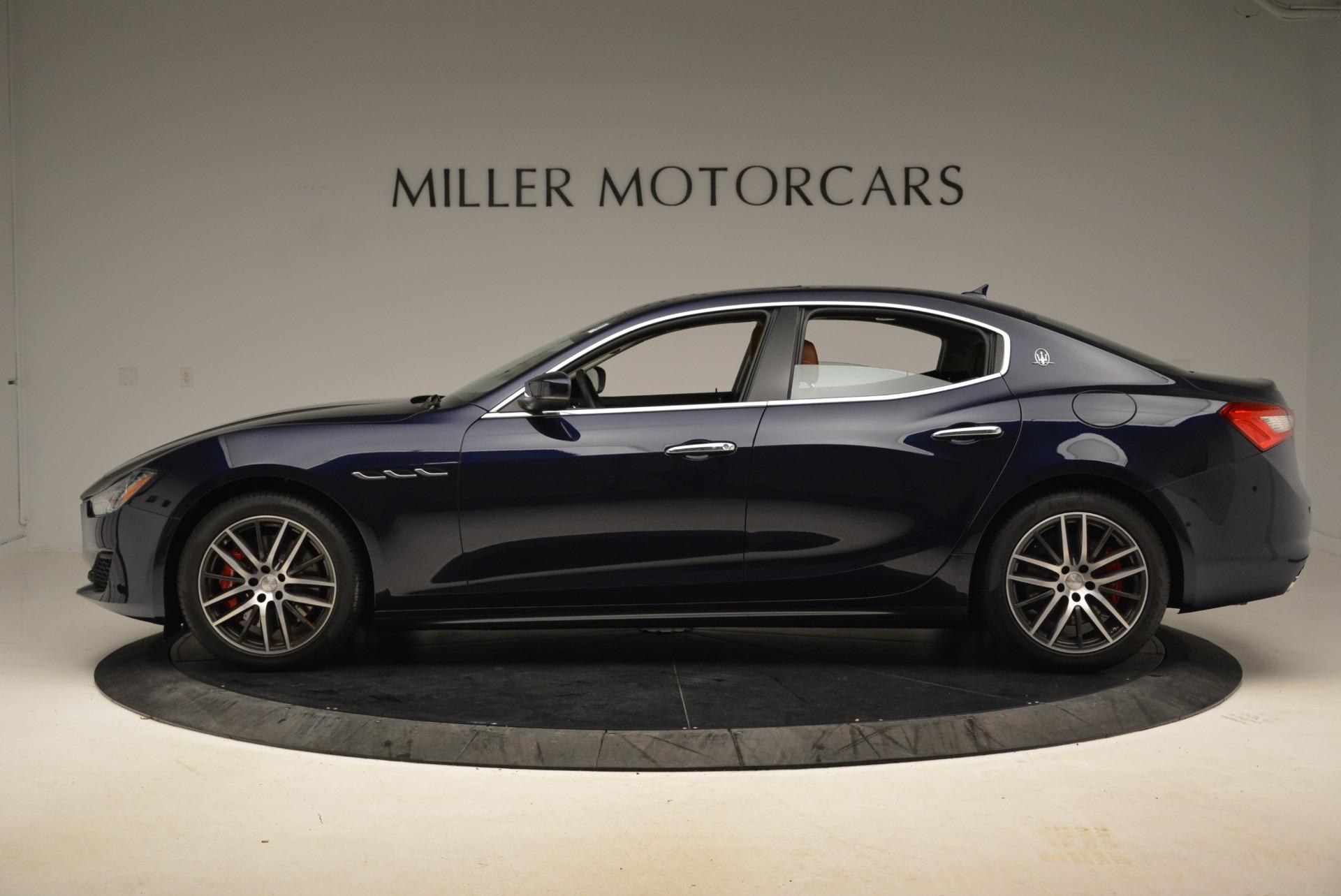 New 2018 Maserati Ghibli S Q4 For Sale In Greenwich, CT 1615_p3