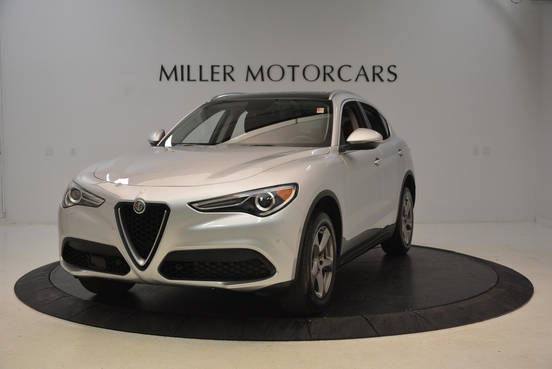 New 2018 Alfa Romeo Stelvio Q4 For Sale In Greenwich, CT 1624_main