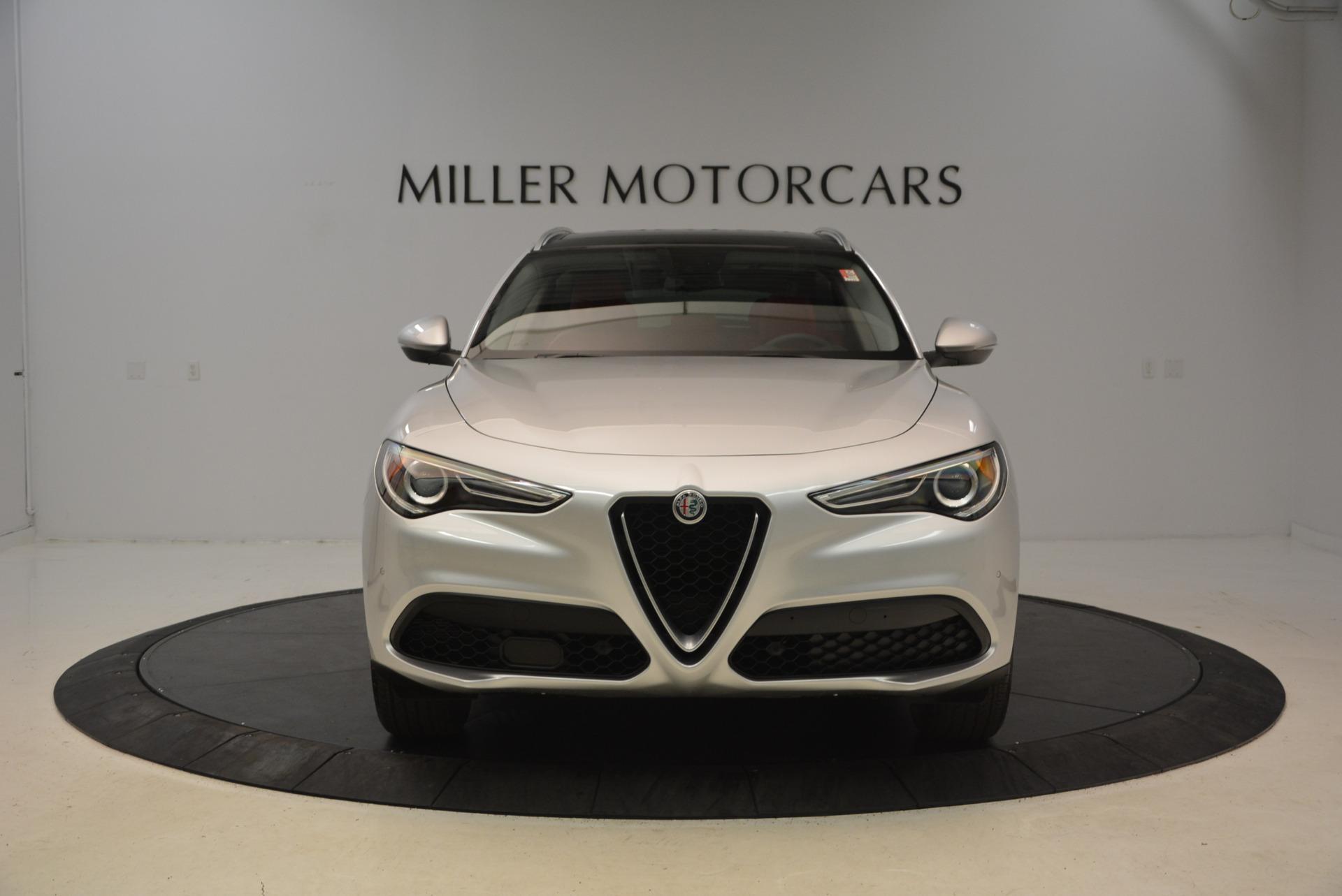 New 2018 Alfa Romeo Stelvio Q4 For Sale In Greenwich, CT 1624_p12