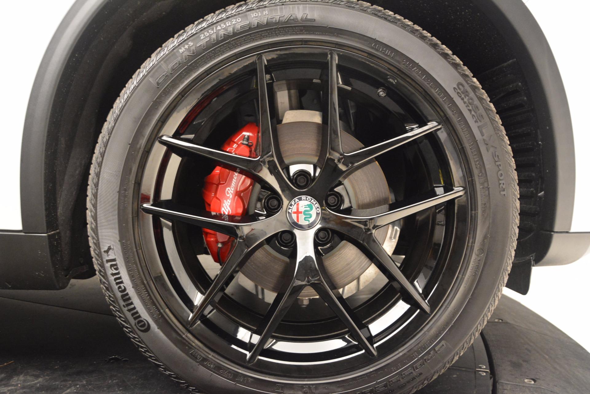 New 2018 Alfa Romeo Stelvio Sport Q4 For Sale In Greenwich, CT 1627_p25