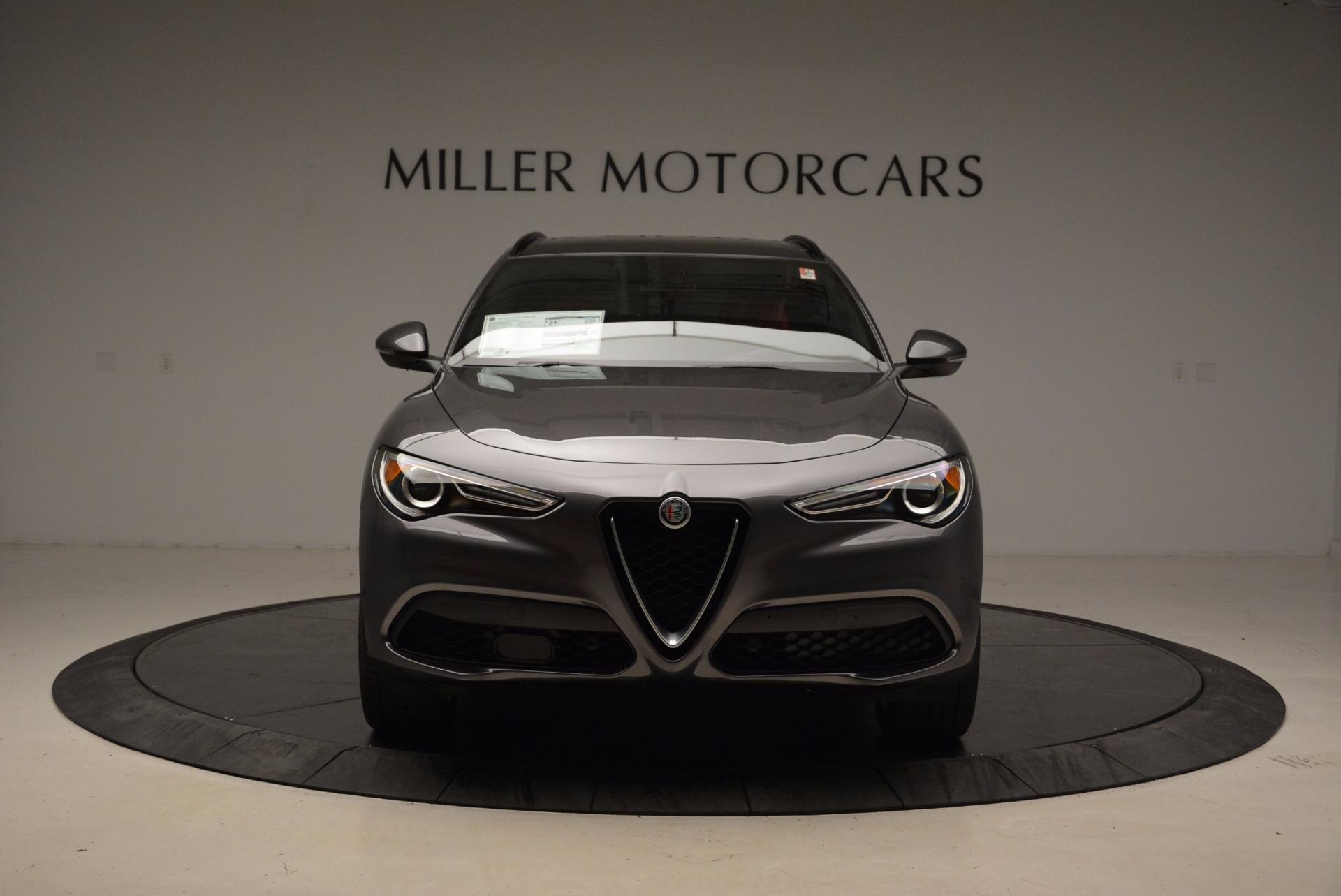 New 2018 Alfa Romeo Stelvio Ti Sport Q4 For Sale In Greenwich, CT 1629_p12