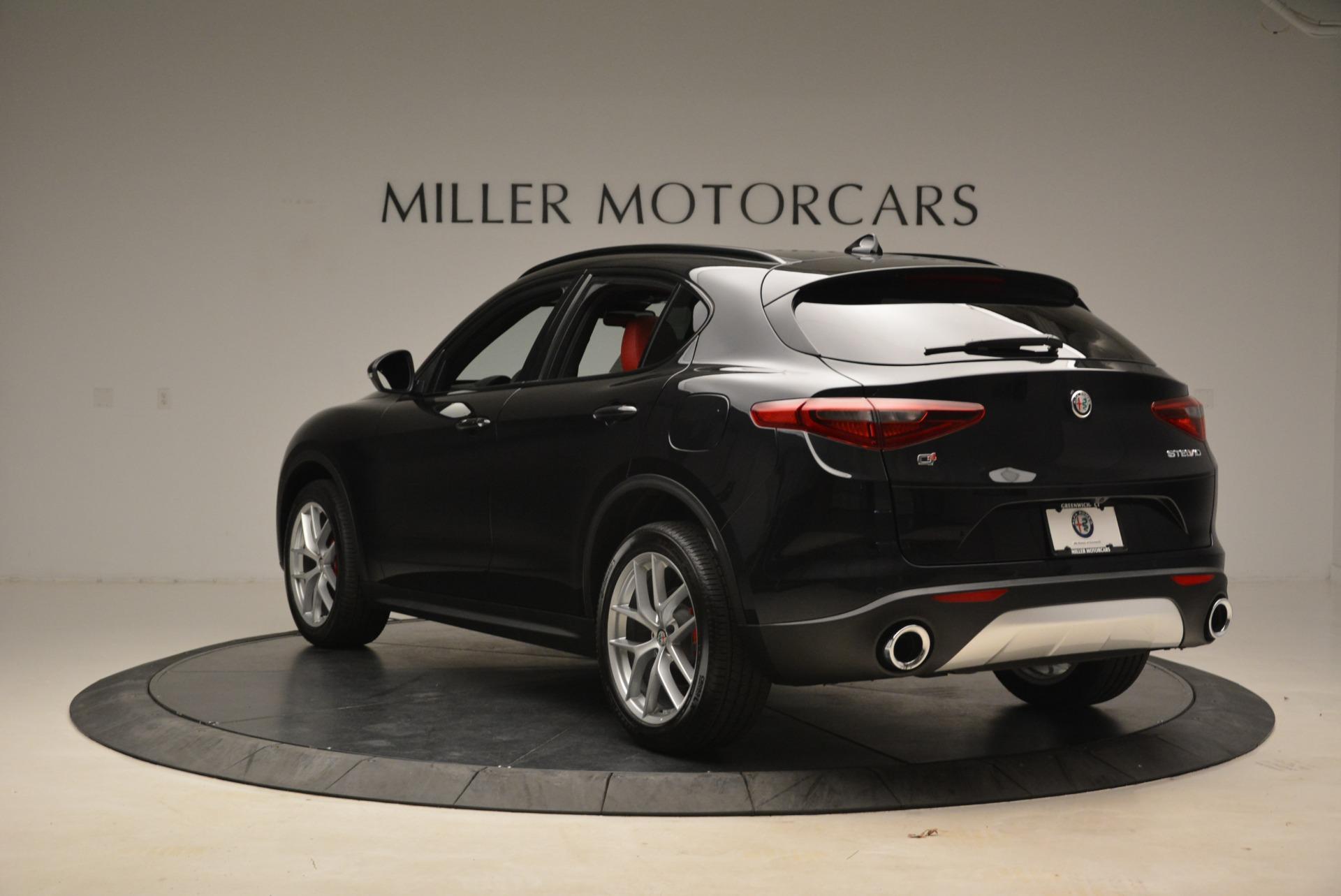 New 2018 Alfa Romeo Stelvio Sport Q4 For Sale In Greenwich, CT 1635_p5