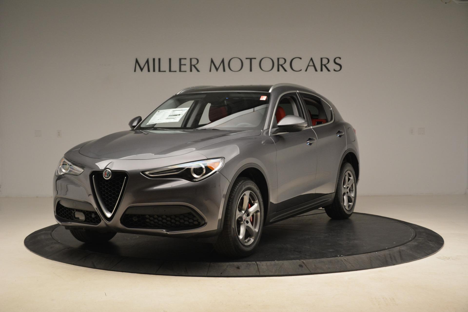 New 2018 Alfa Romeo Stelvio Q4 For Sale In Greenwich, CT 1637_main