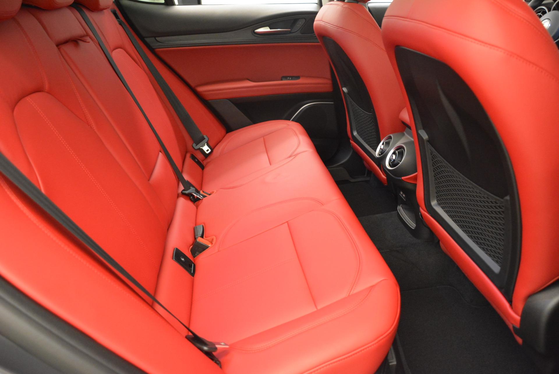 New 2018 Alfa Romeo Stelvio Q4 For Sale In Greenwich, CT 1637_p20