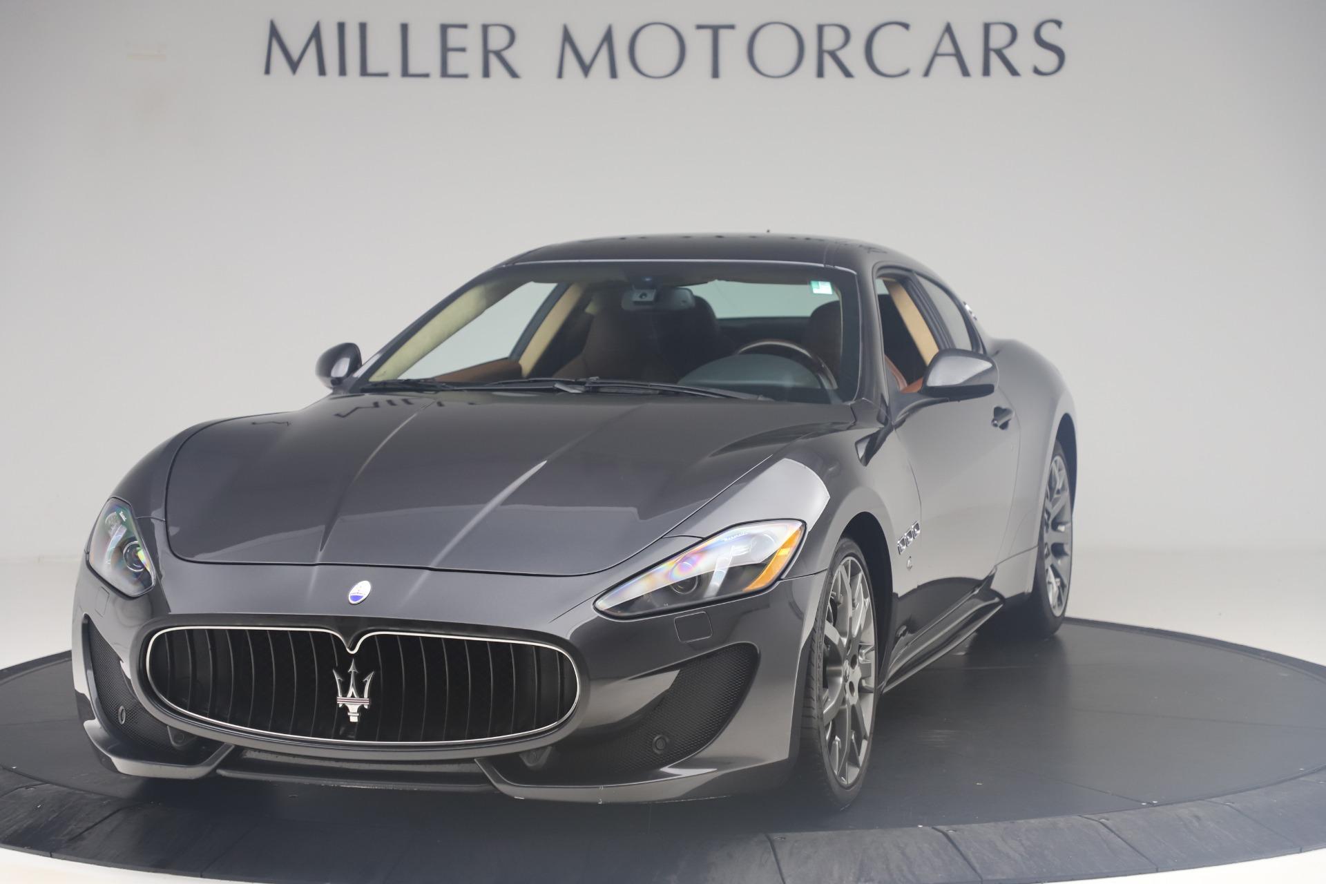 Used 2016 Maserati GranTurismo Sport For Sale In Greenwich, CT 164_main