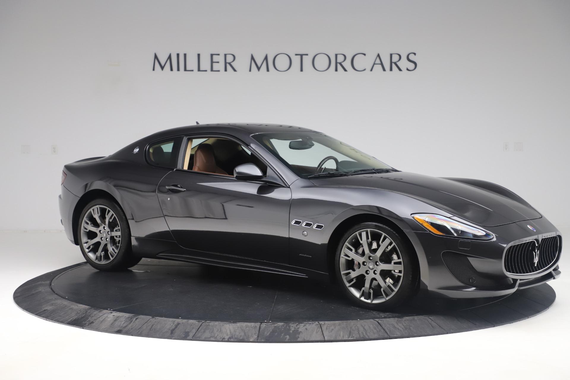 Used 2016 Maserati GranTurismo Sport For Sale In Greenwich, CT 164_p10