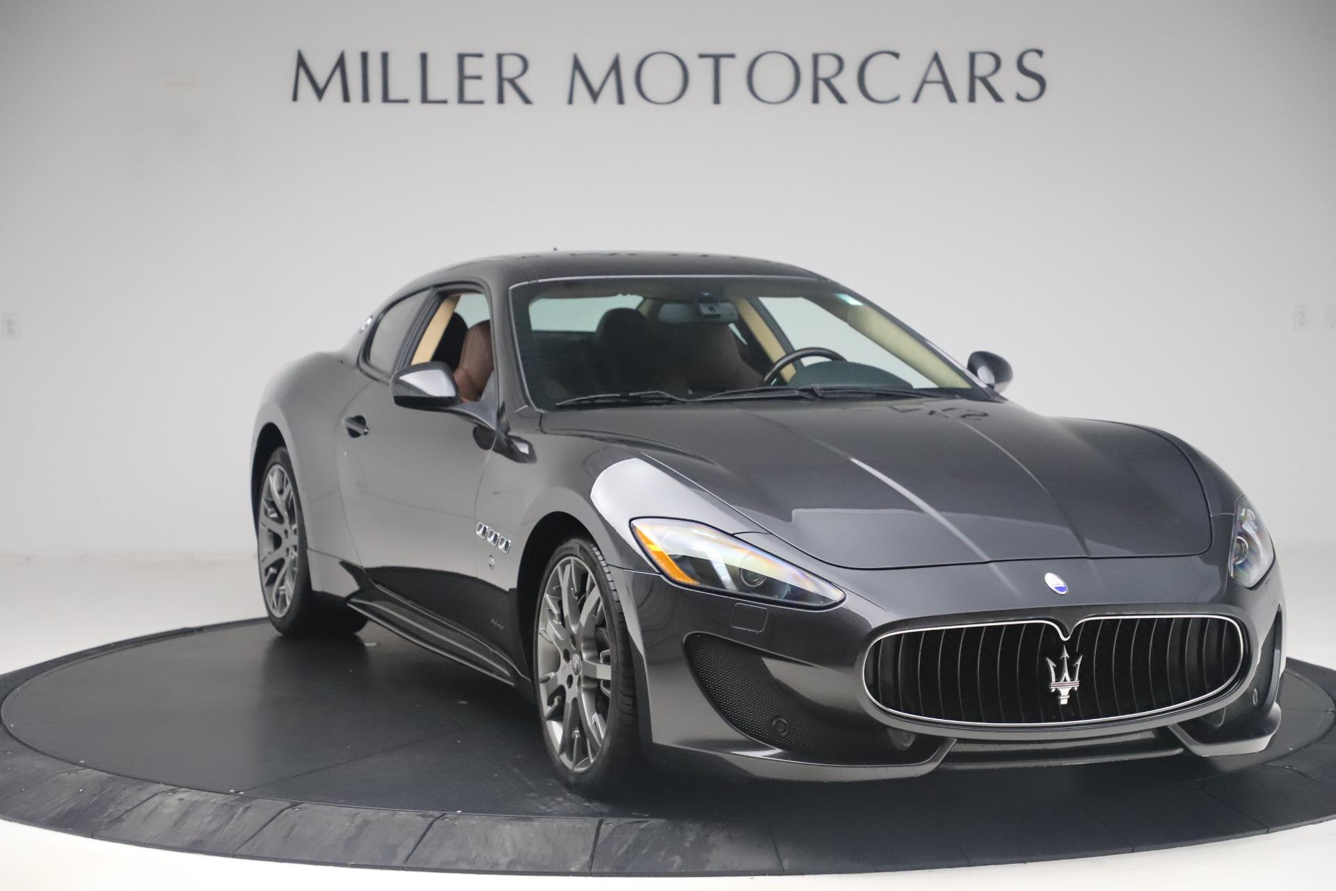 Used 2016 Maserati GranTurismo Sport For Sale In Greenwich, CT 164_p11
