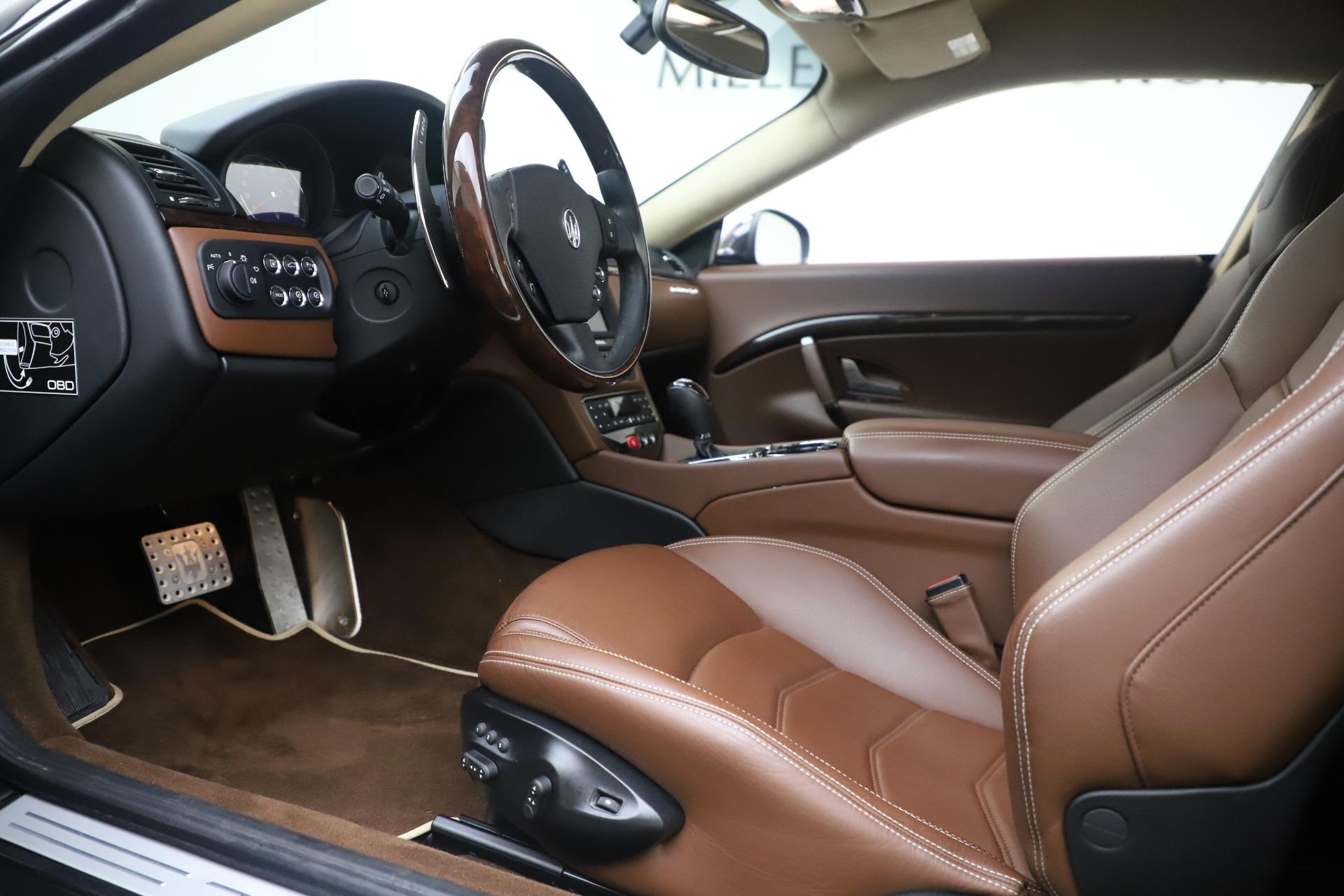Used 2016 Maserati GranTurismo Sport For Sale In Greenwich, CT 164_p14