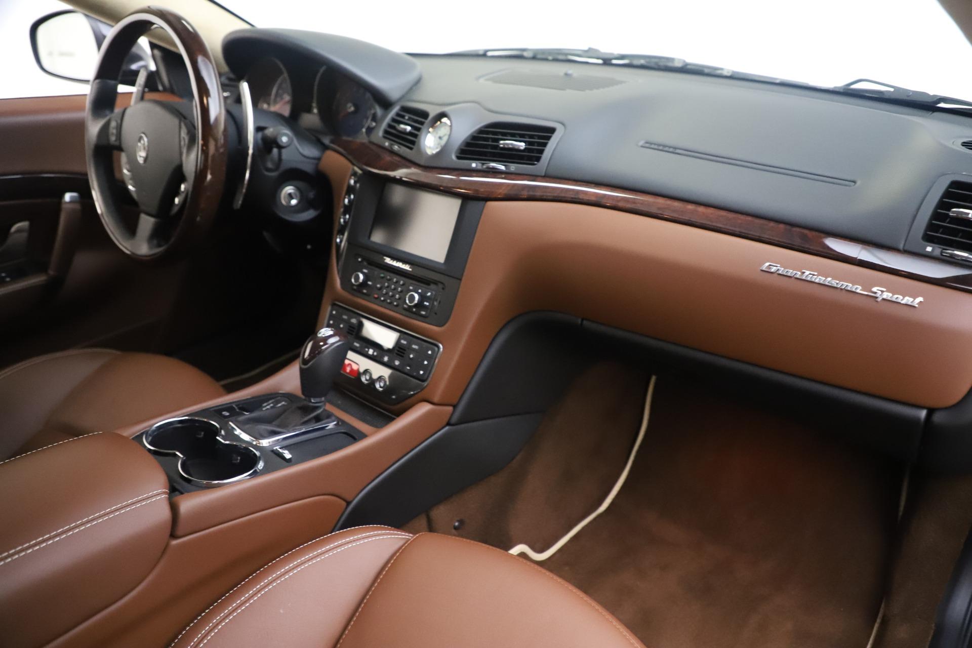 Used 2016 Maserati GranTurismo Sport For Sale In Greenwich, CT 164_p19