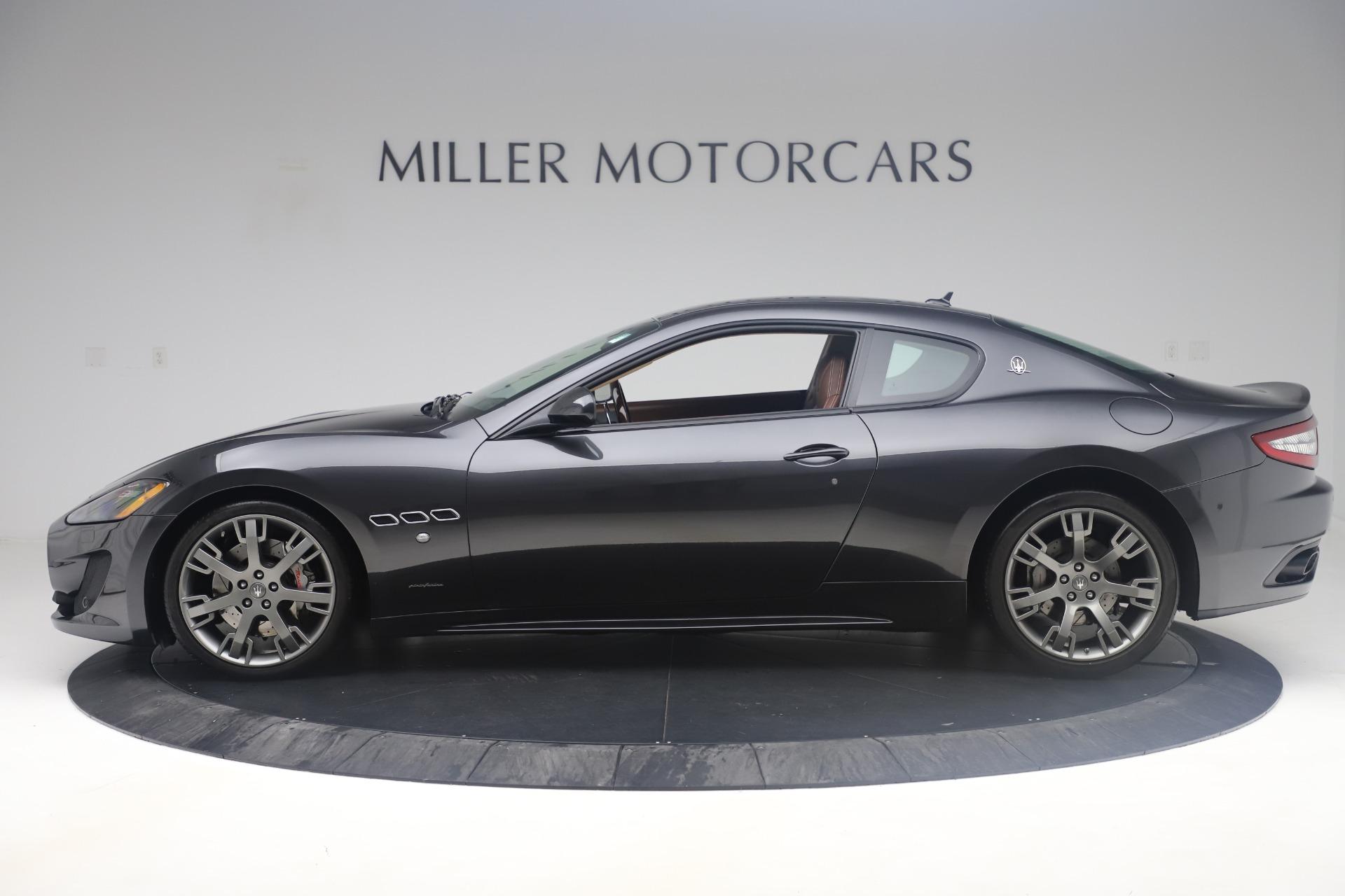 New 2016 Maserati GranTurismo Sport For Sale In Greenwich, CT 164_p3