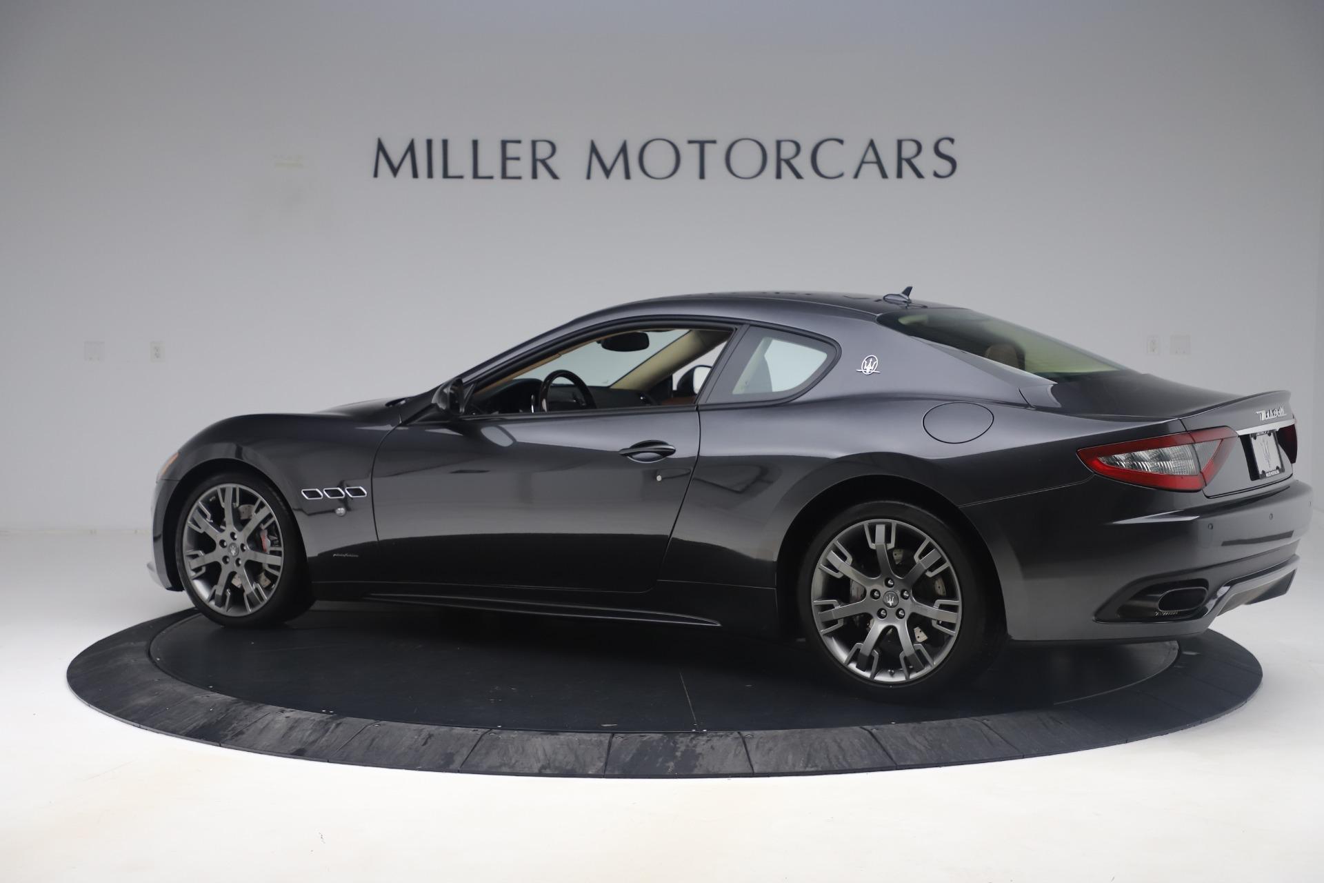 Used 2016 Maserati GranTurismo Sport For Sale In Greenwich, CT 164_p4