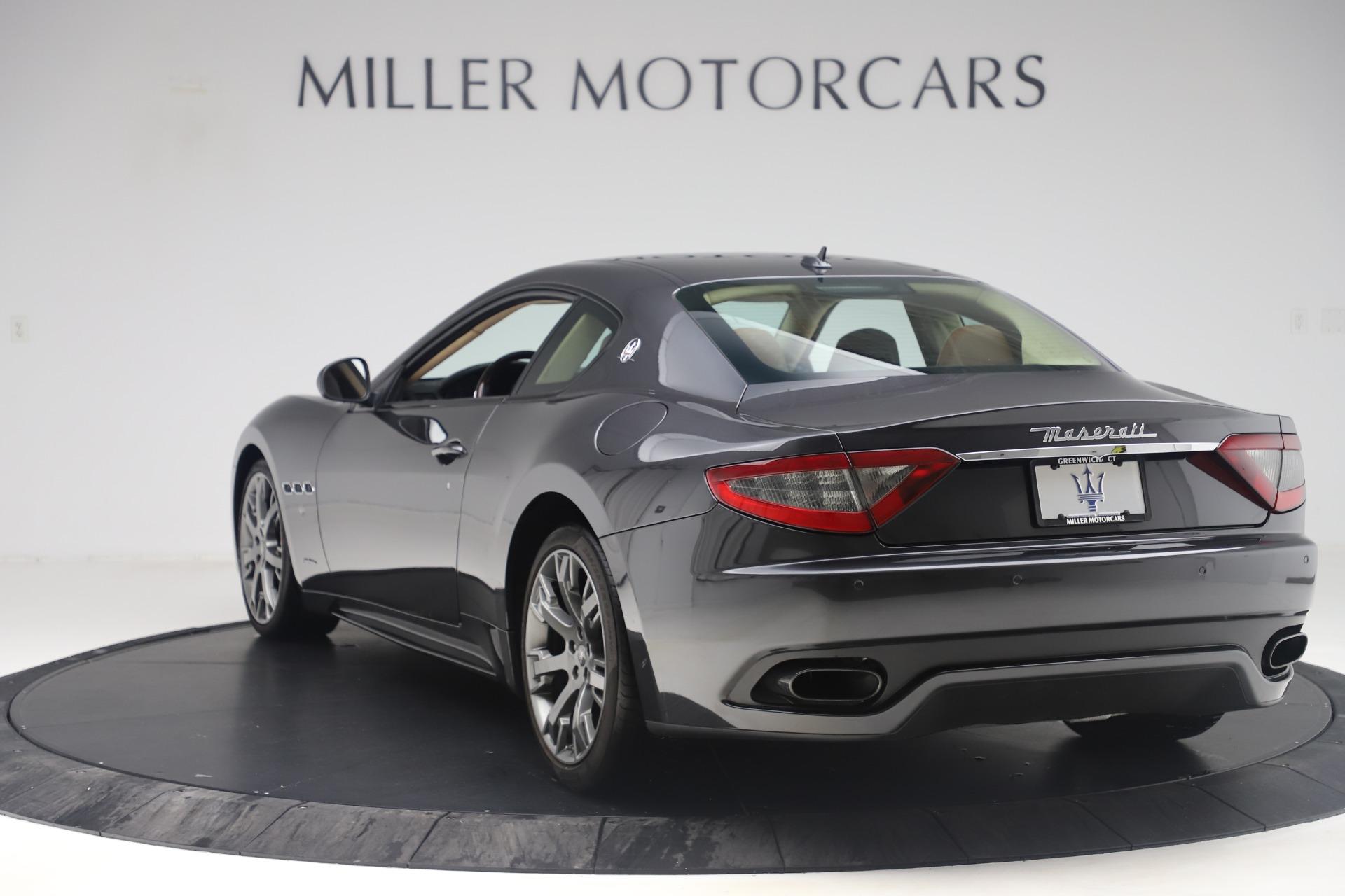 Used 2016 Maserati GranTurismo Sport For Sale In Greenwich, CT 164_p5