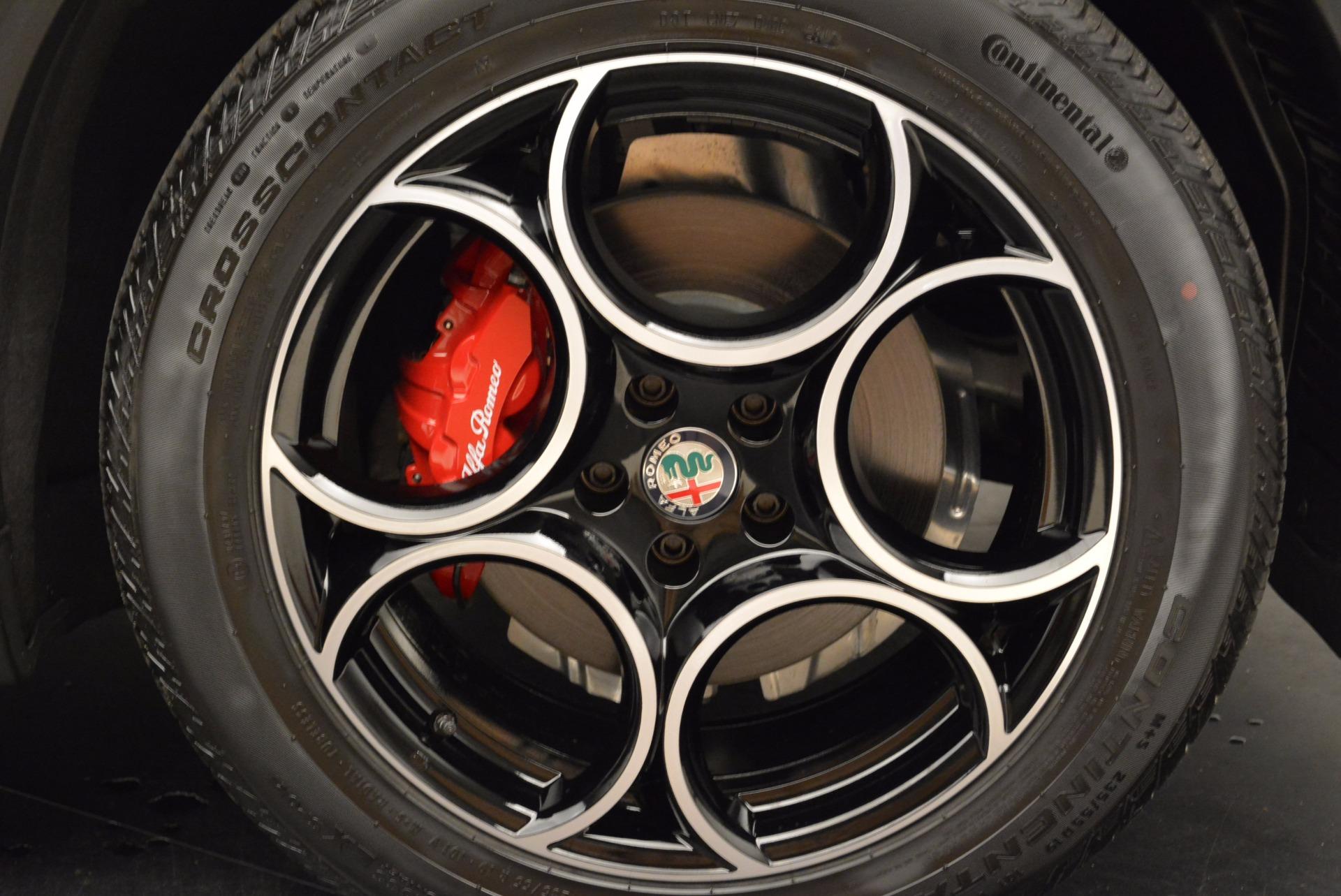 New 2018 Alfa Romeo Stelvio Sport Q4 For Sale In Greenwich, CT 1642_p25