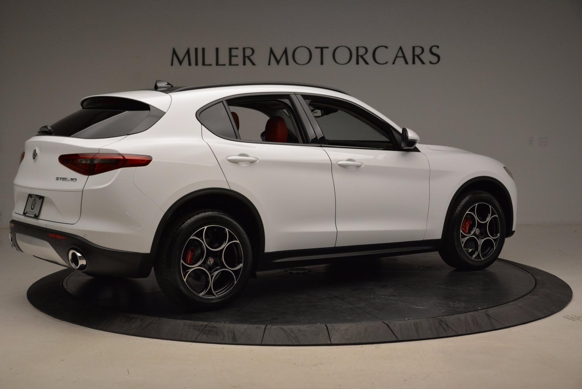 New 2018 Alfa Romeo Stelvio Sport Q4 For Sale In Greenwich, CT 1642_p8