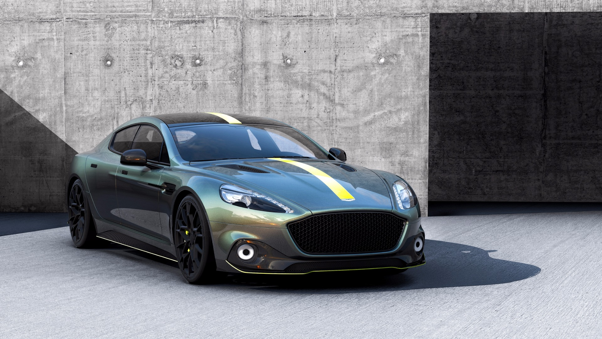 New 2019 Aston Martin Rapide AMR Shadow Edition For Sale In Greenwich, CT 1647_p2