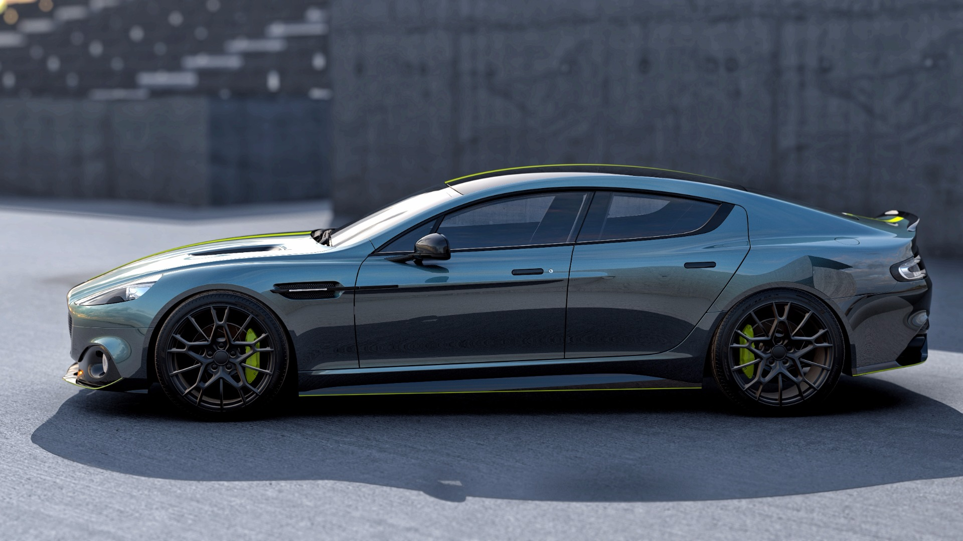 New 2019 Aston Martin Rapide AMR Shadow Edition For Sale In Greenwich, CT 1647_p3