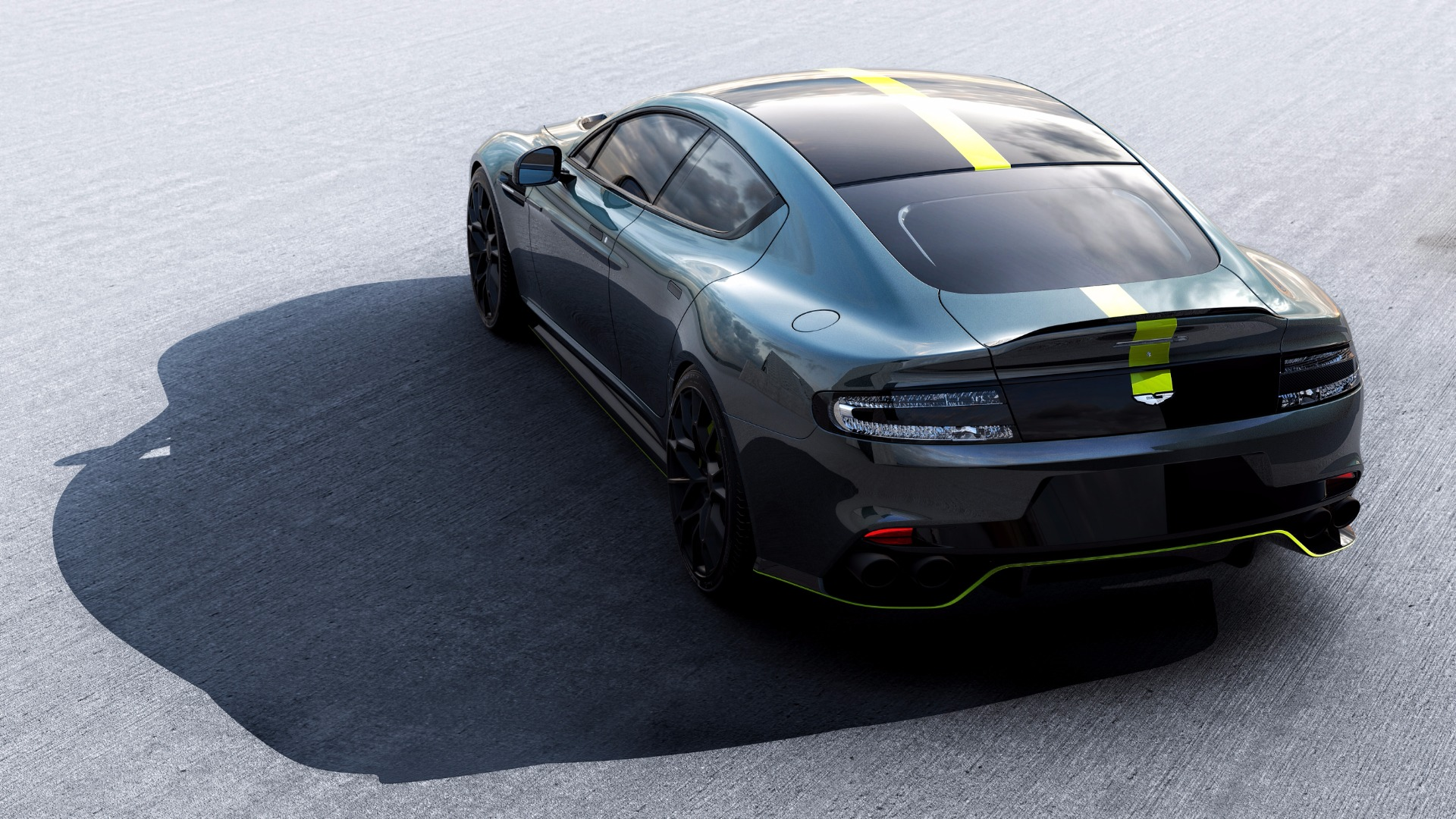 New 2019 Aston Martin Rapide AMR Shadow Edition For Sale In Greenwich, CT 1647_p7
