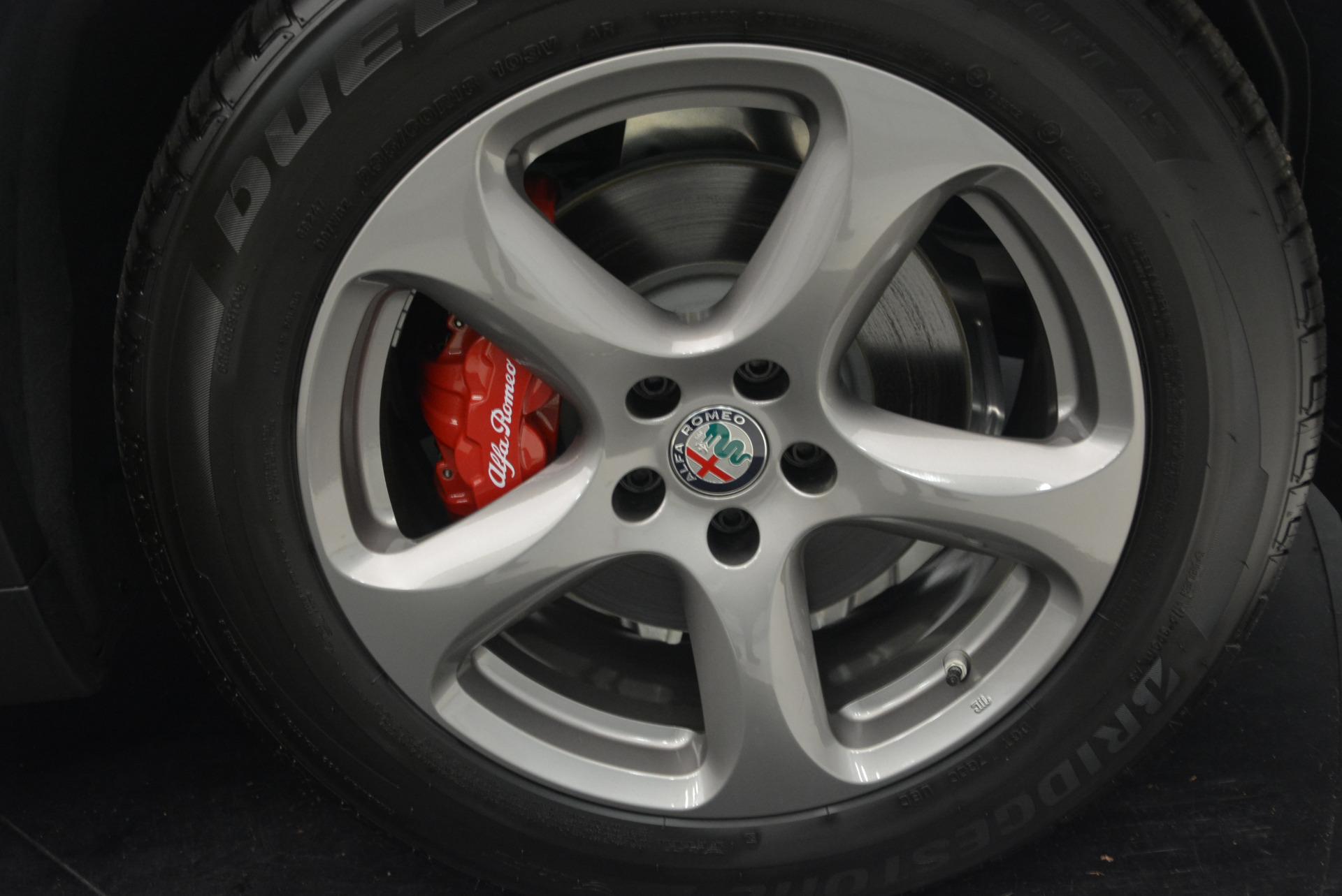 New 2018 Alfa Romeo Stelvio Q4 For Sale In Greenwich, CT 1649_p25