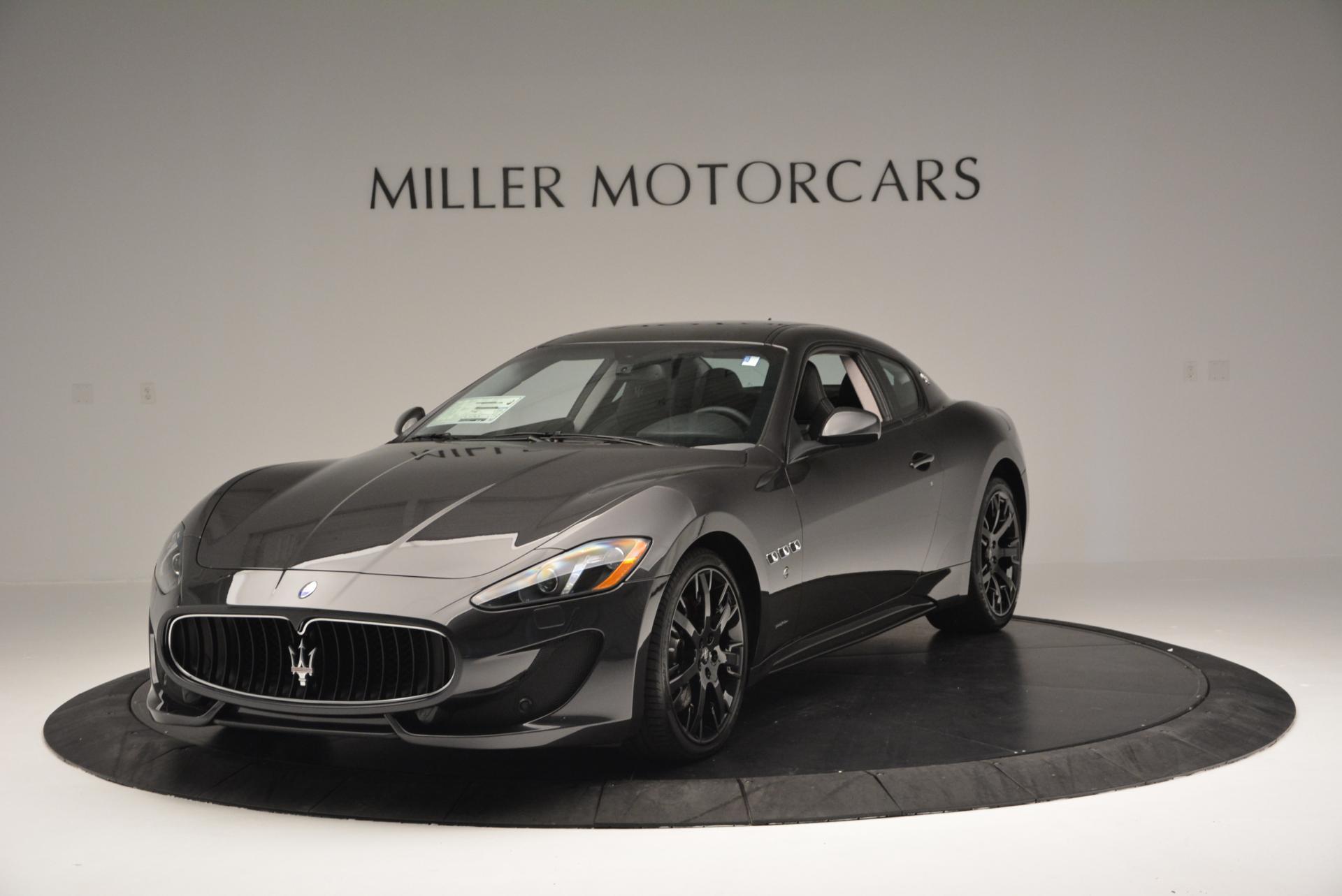 New 2016 Maserati GranTurismo Sport For Sale In Greenwich, CT 165_main