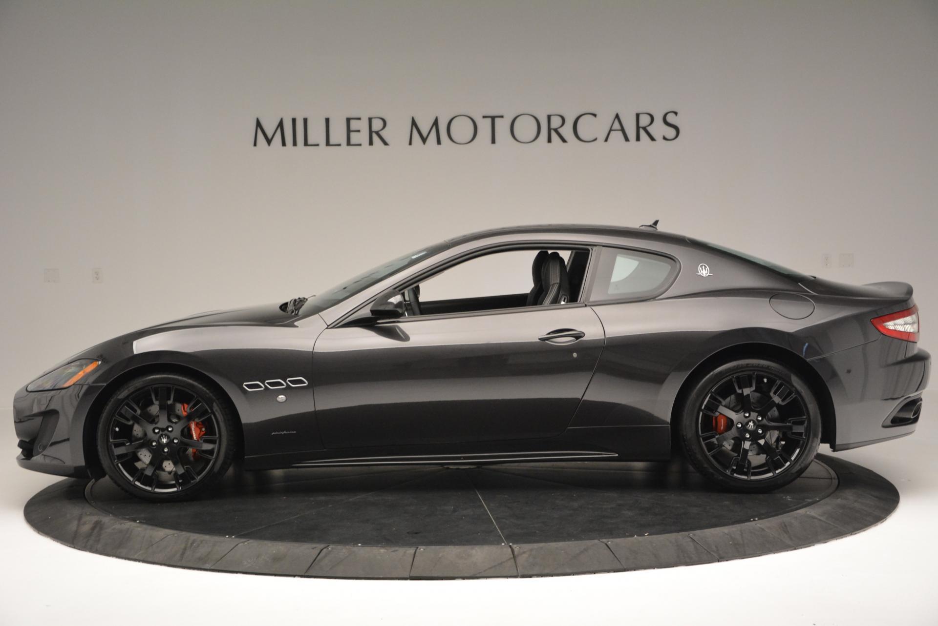 New 2016 Maserati GranTurismo Sport For Sale In Greenwich, CT 165_p3