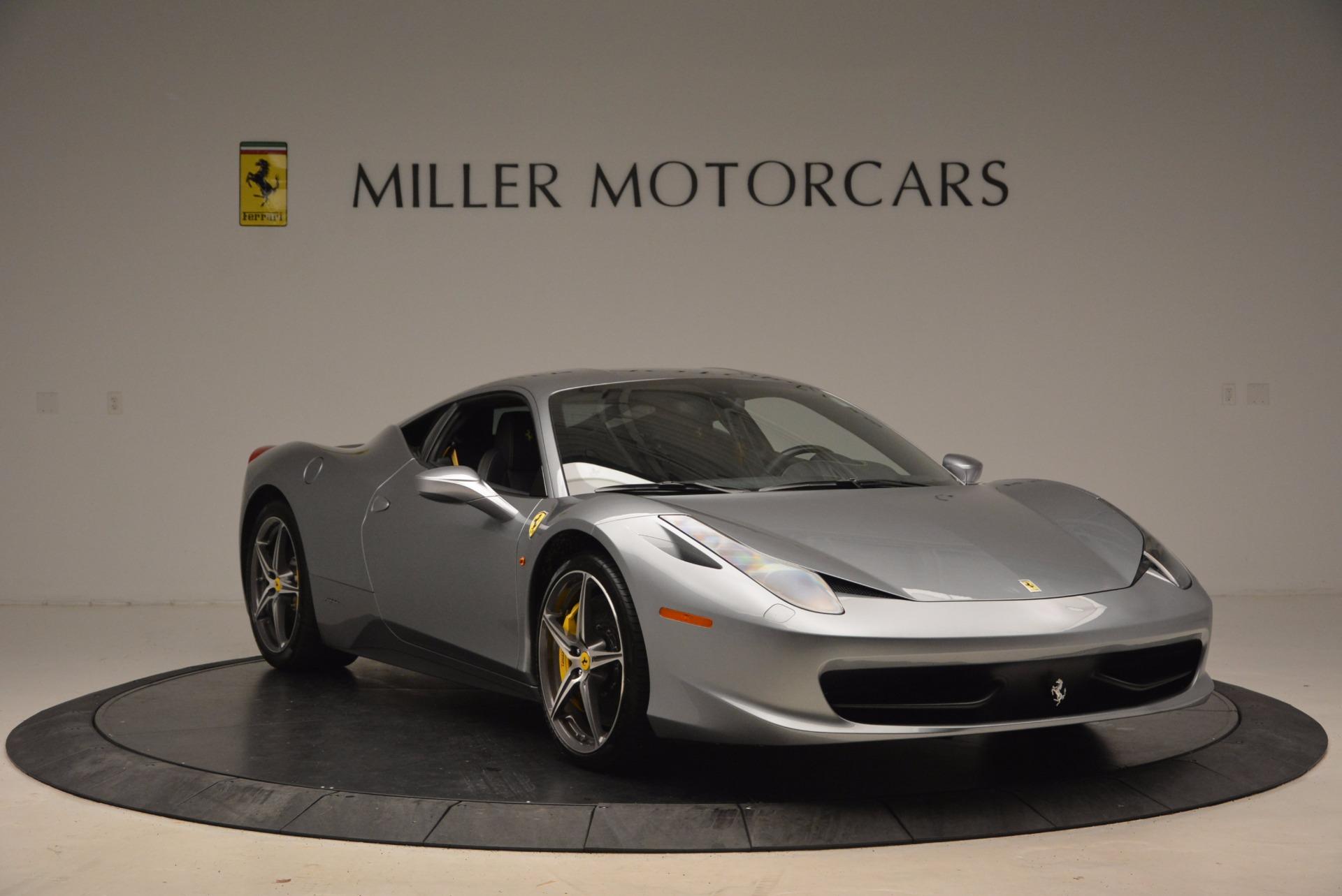 Used 2014 Ferrari 458 Italia  For Sale In Greenwich, CT 1669_p11