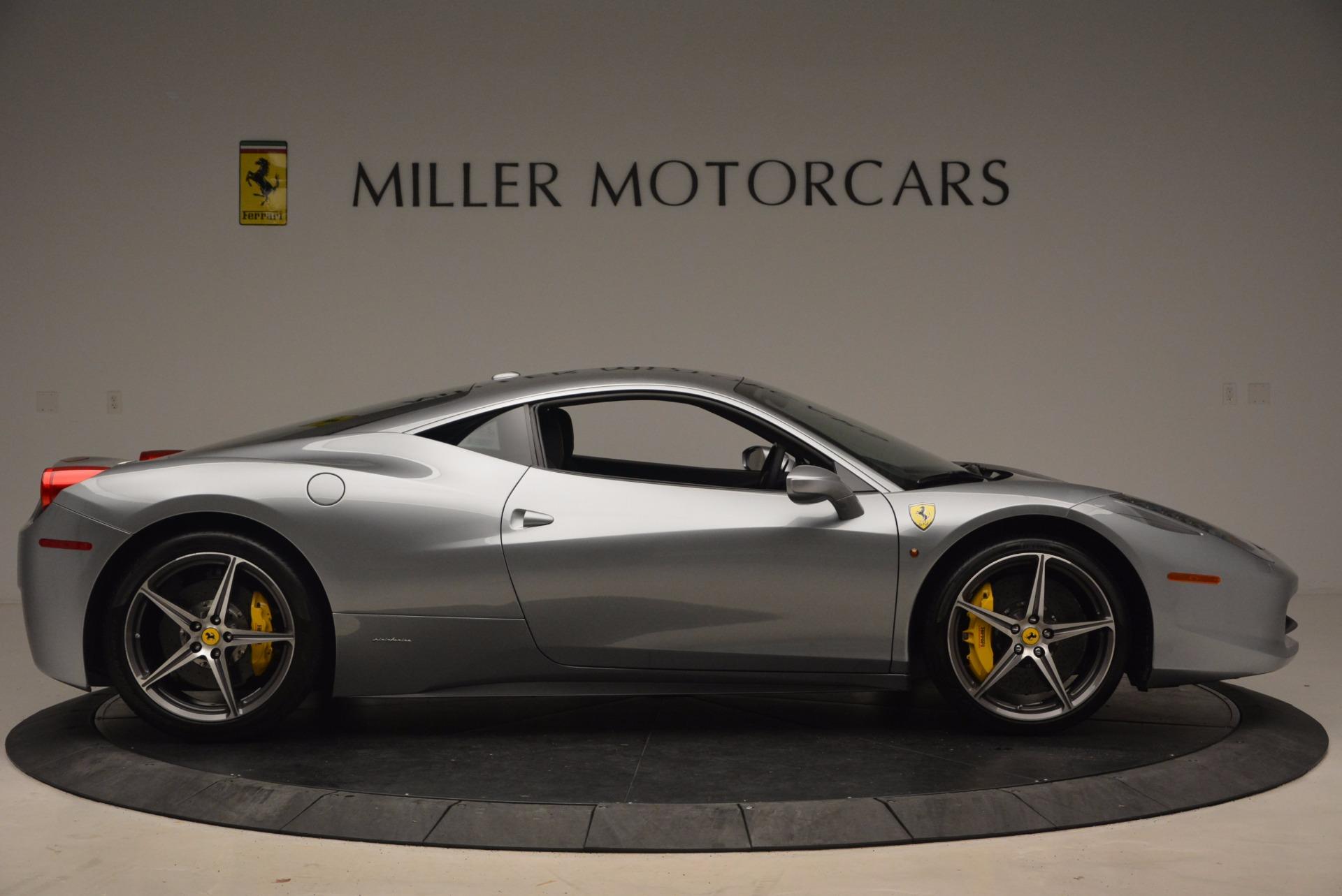 Used 2014 Ferrari 458 Italia  For Sale In Greenwich, CT 1669_p9