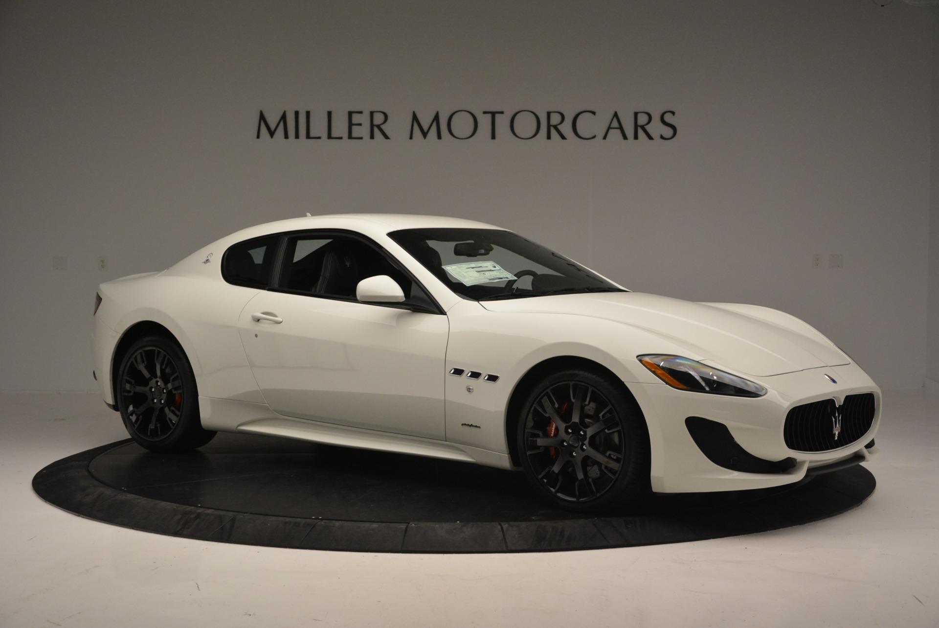 New 2016 Maserati GranTurismo Sport For Sale In Greenwich, CT 167_p8