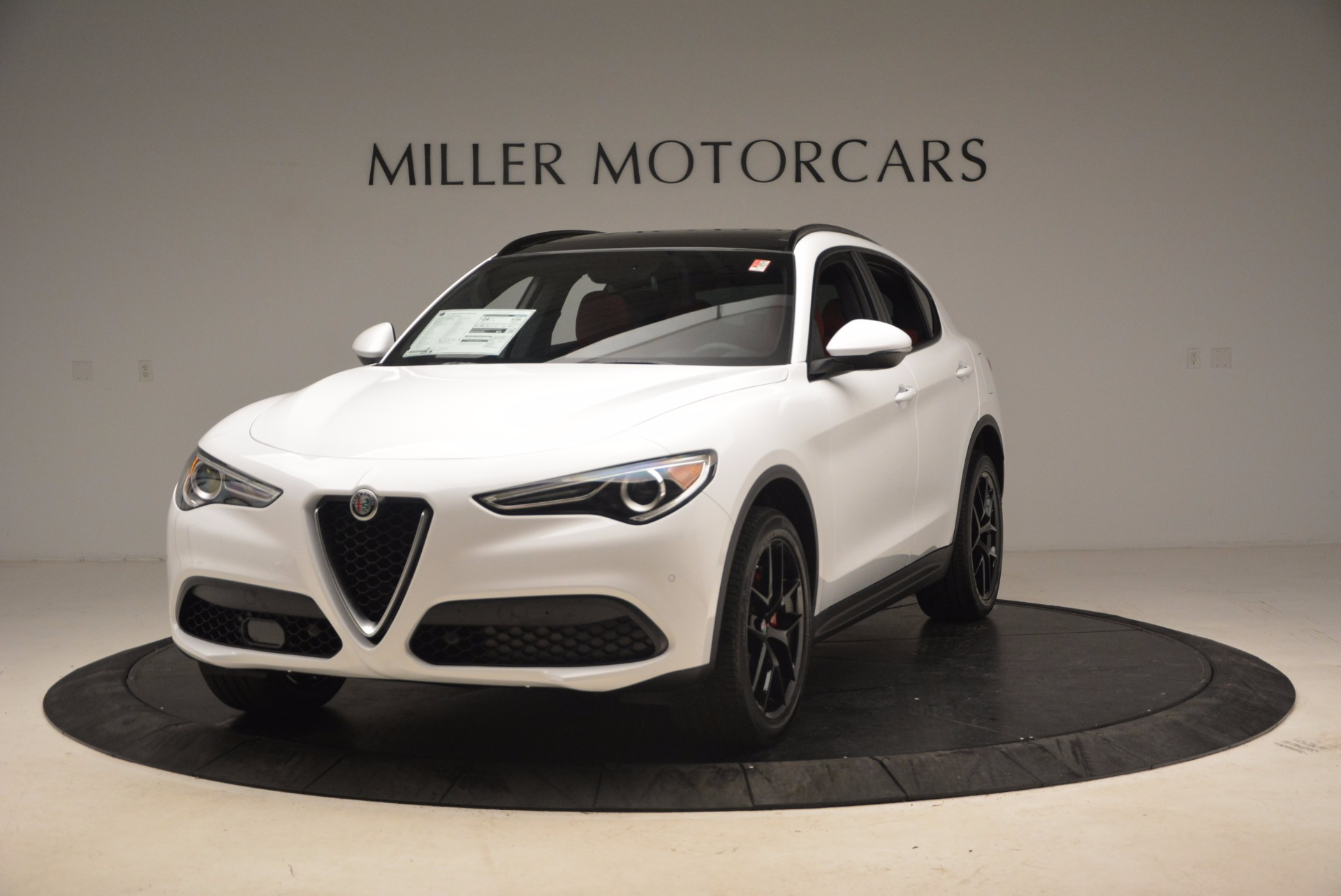 New 2018 Alfa Romeo Stelvio Ti Sport Q4 For Sale In Greenwich, CT 1684_main