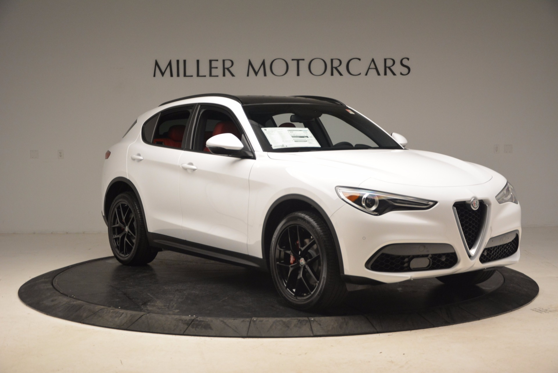 New 2018 Alfa Romeo Stelvio Ti Sport Q4 For Sale In Greenwich, CT 1684_p11