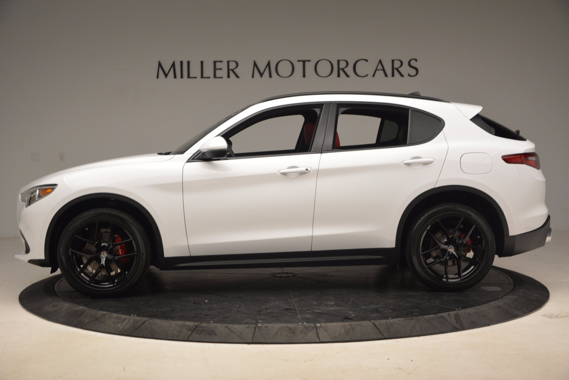 New 2018 Alfa Romeo Stelvio Ti Sport Q4 For Sale In Greenwich, CT 1684_p3