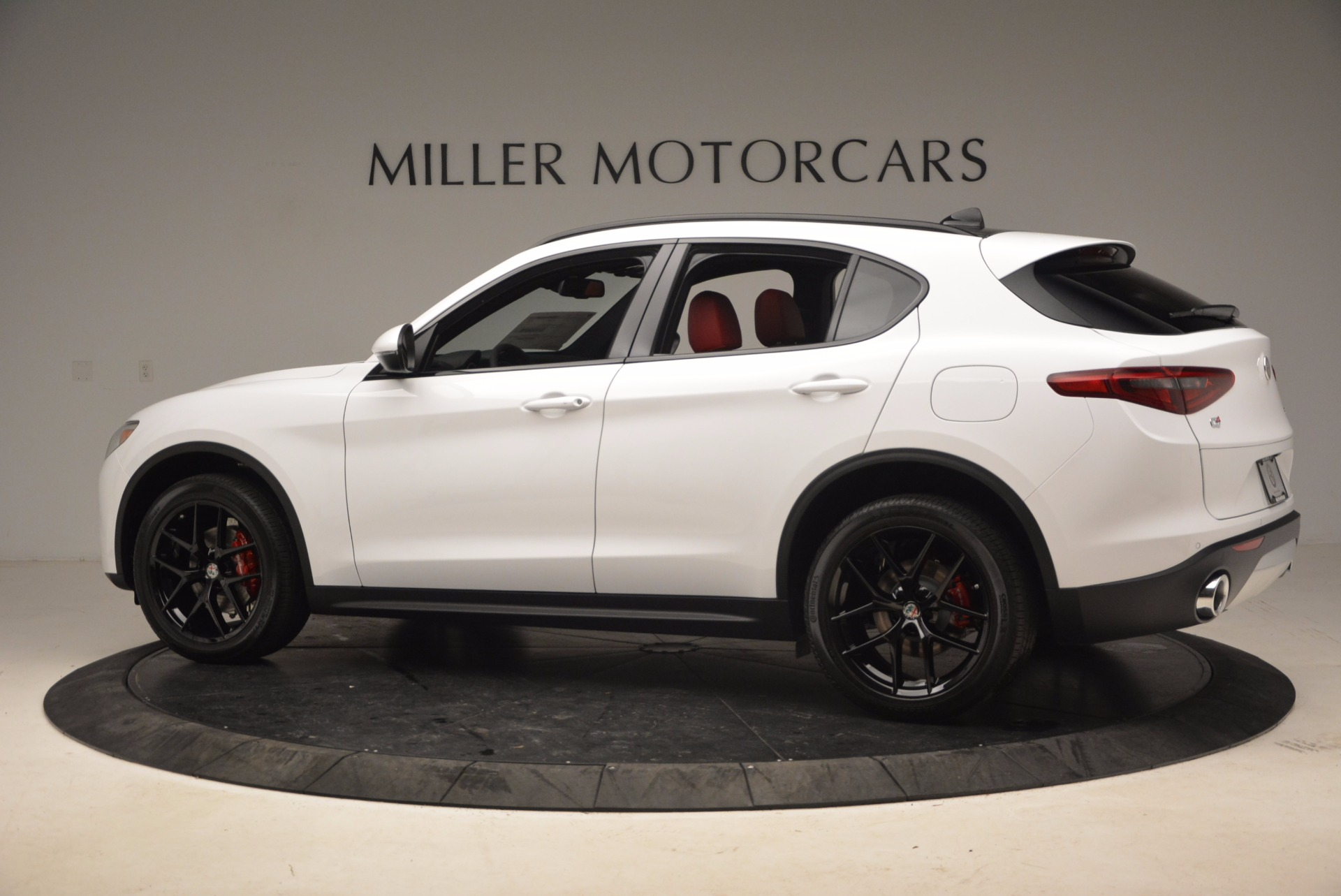 New 2018 Alfa Romeo Stelvio Ti Sport Q4 For Sale In Greenwich, CT 1684_p4