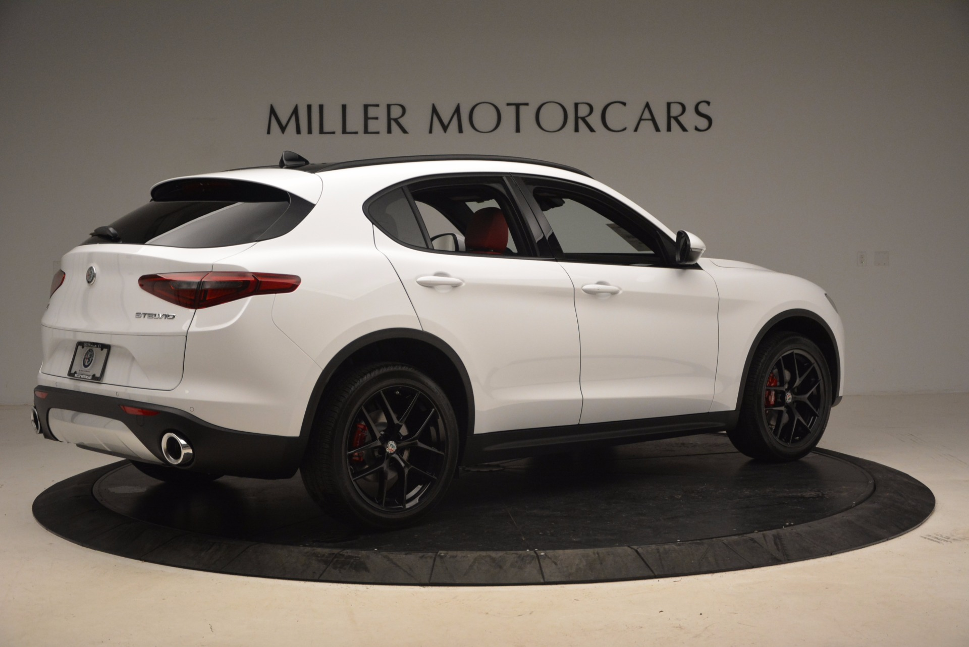 New 2018 Alfa Romeo Stelvio Ti Sport Q4 For Sale In Greenwich, CT 1684_p8