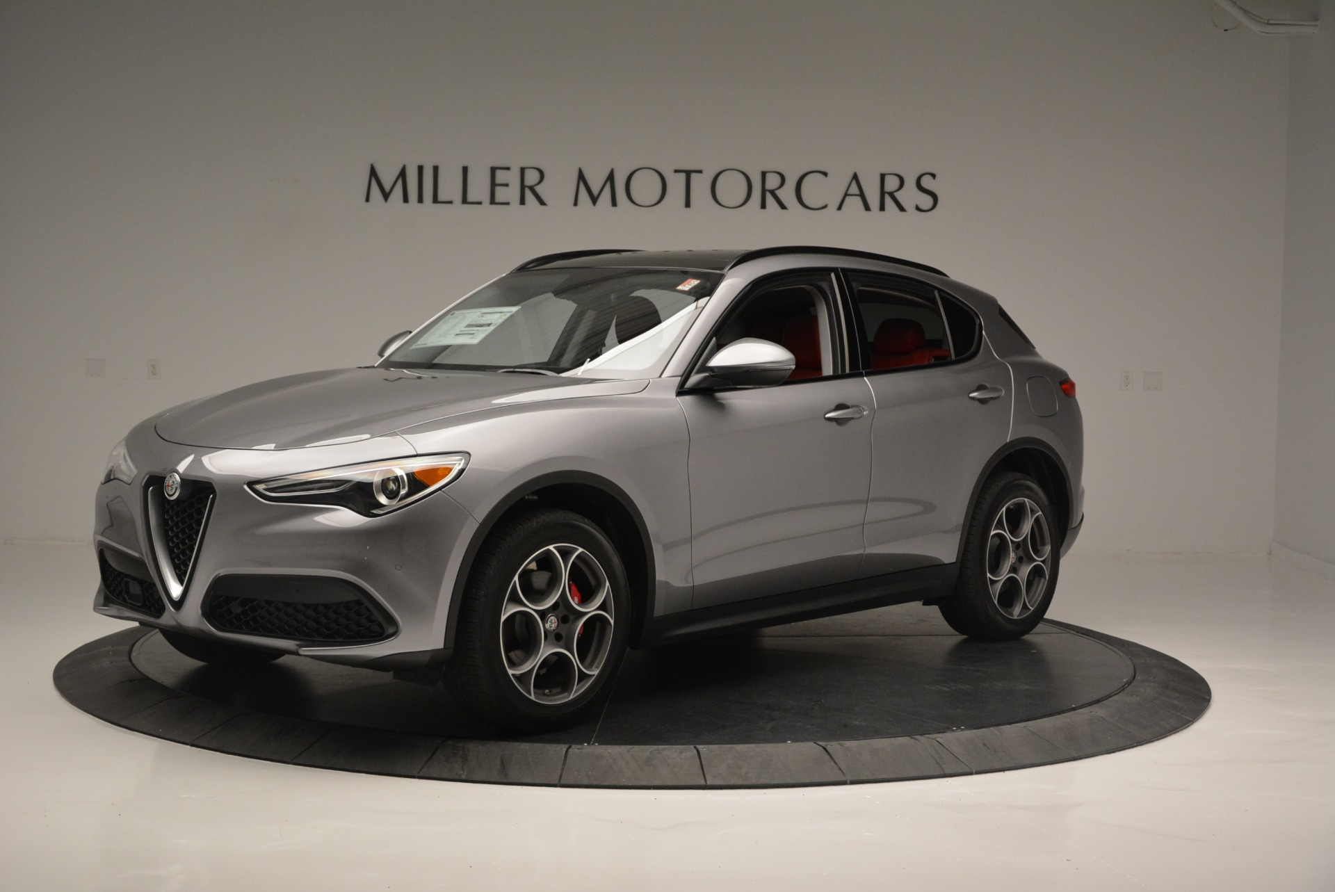 New 2018 Alfa Romeo Stelvio Sport Q4 For Sale In Greenwich, CT 1686_p2