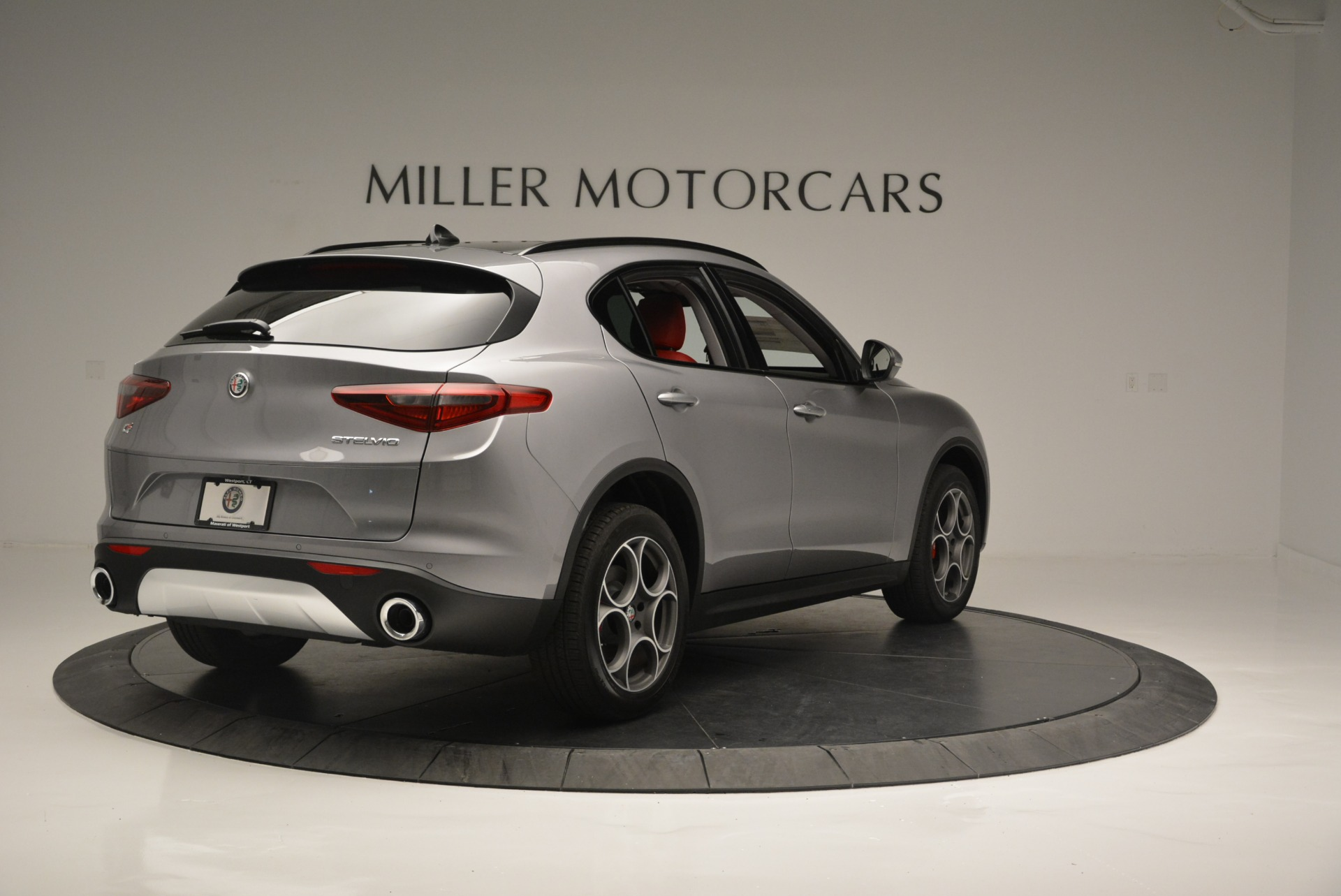 New 2018 Alfa Romeo Stelvio Sport Q4 For Sale In Greenwich, CT 1686_p6