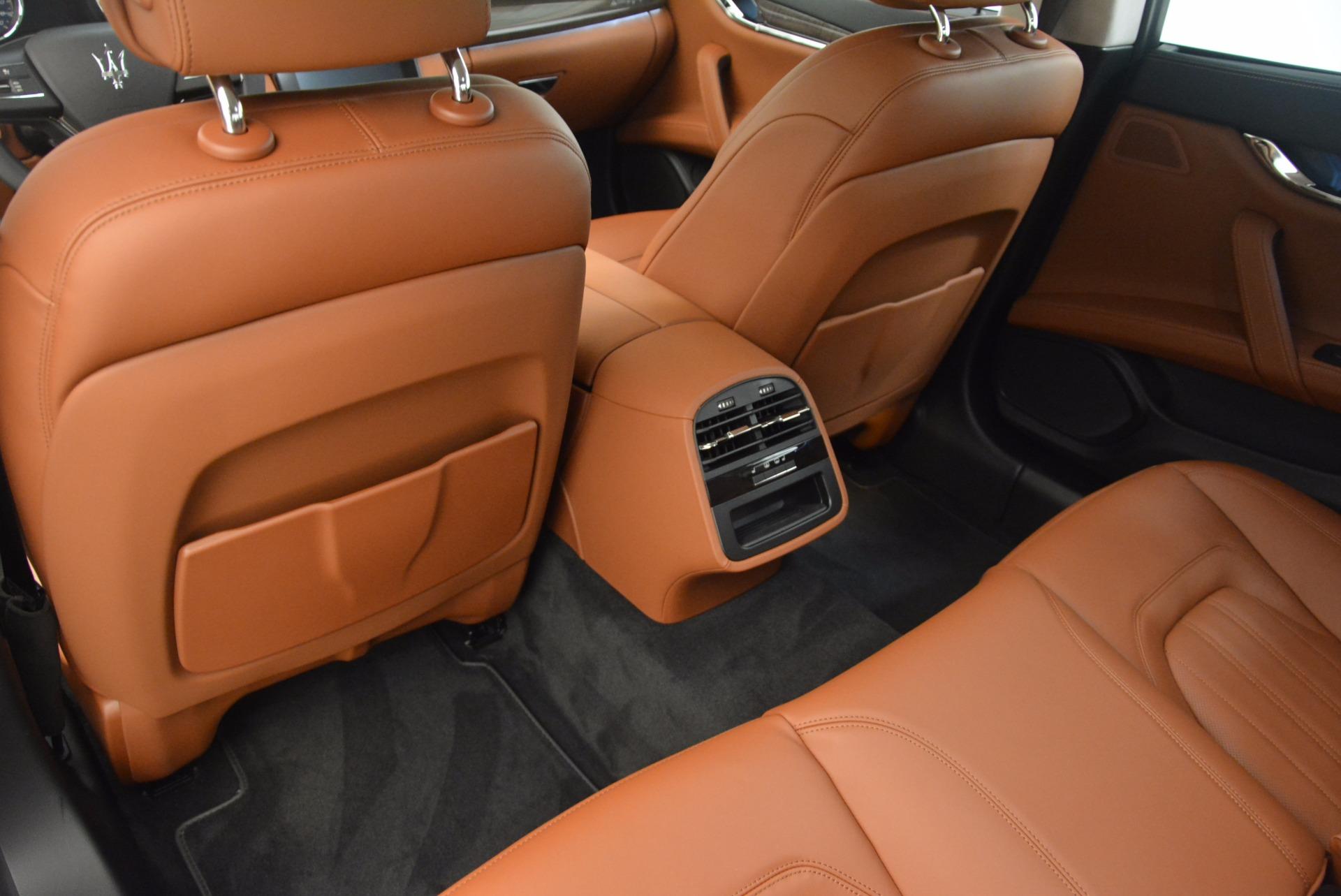 New 2018 Maserati Quattroporte S Q4 GranLusso For Sale In Greenwich, CT 1700_p19