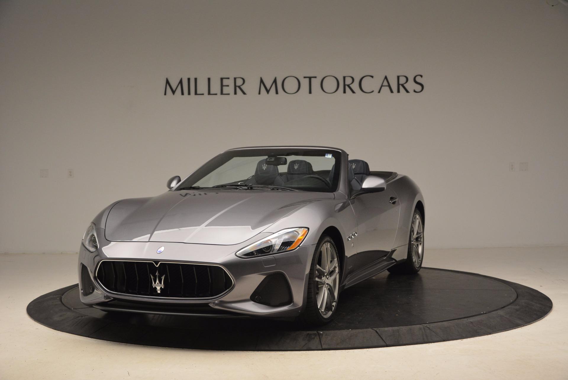 New 2018 Maserati GranTurismo Sport Convertible For Sale In Greenwich, CT 1703_main