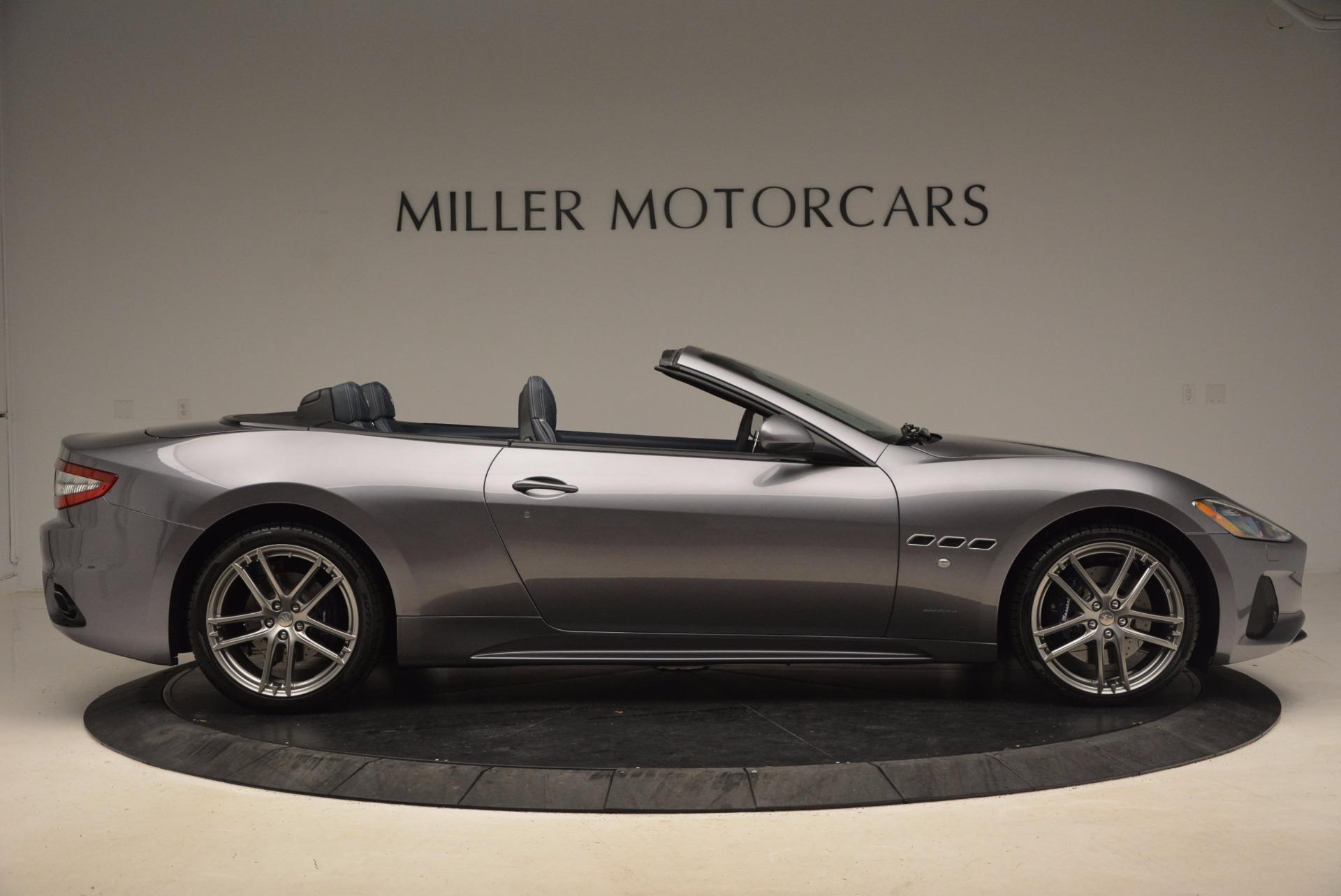 New 2018 Maserati GranTurismo Sport Convertible For Sale In Greenwich, CT 1703_p17