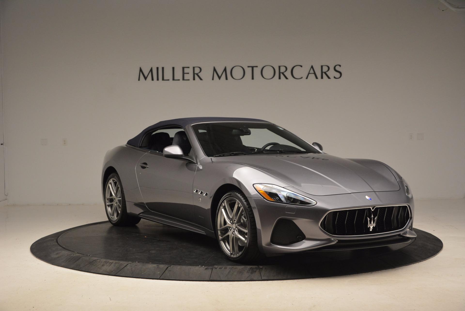 New 2018 Maserati GranTurismo Sport Convertible For Sale In Greenwich, CT 1703_p22
