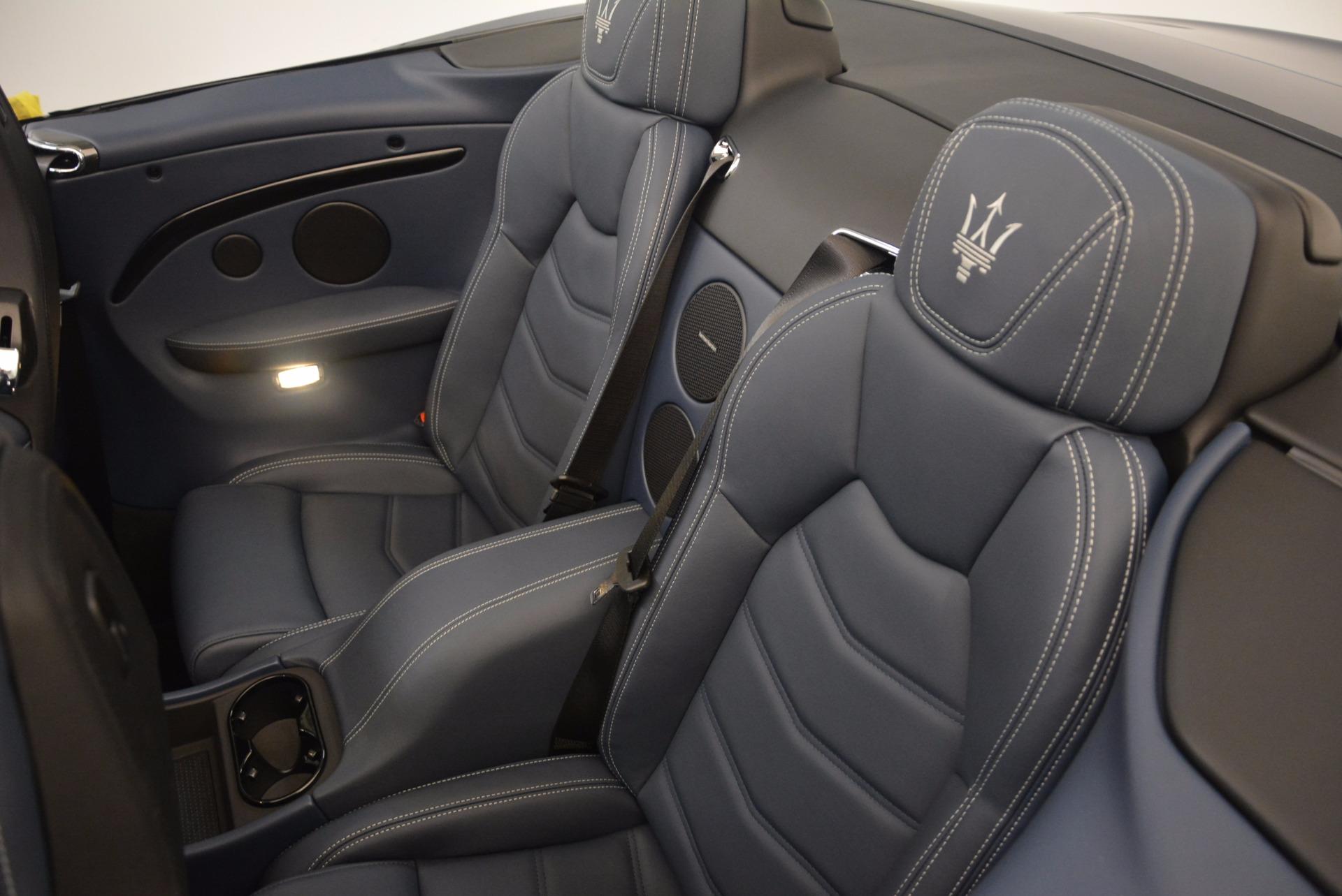 New 2018 Maserati GranTurismo Sport Convertible For Sale In Greenwich, CT 1703_p31