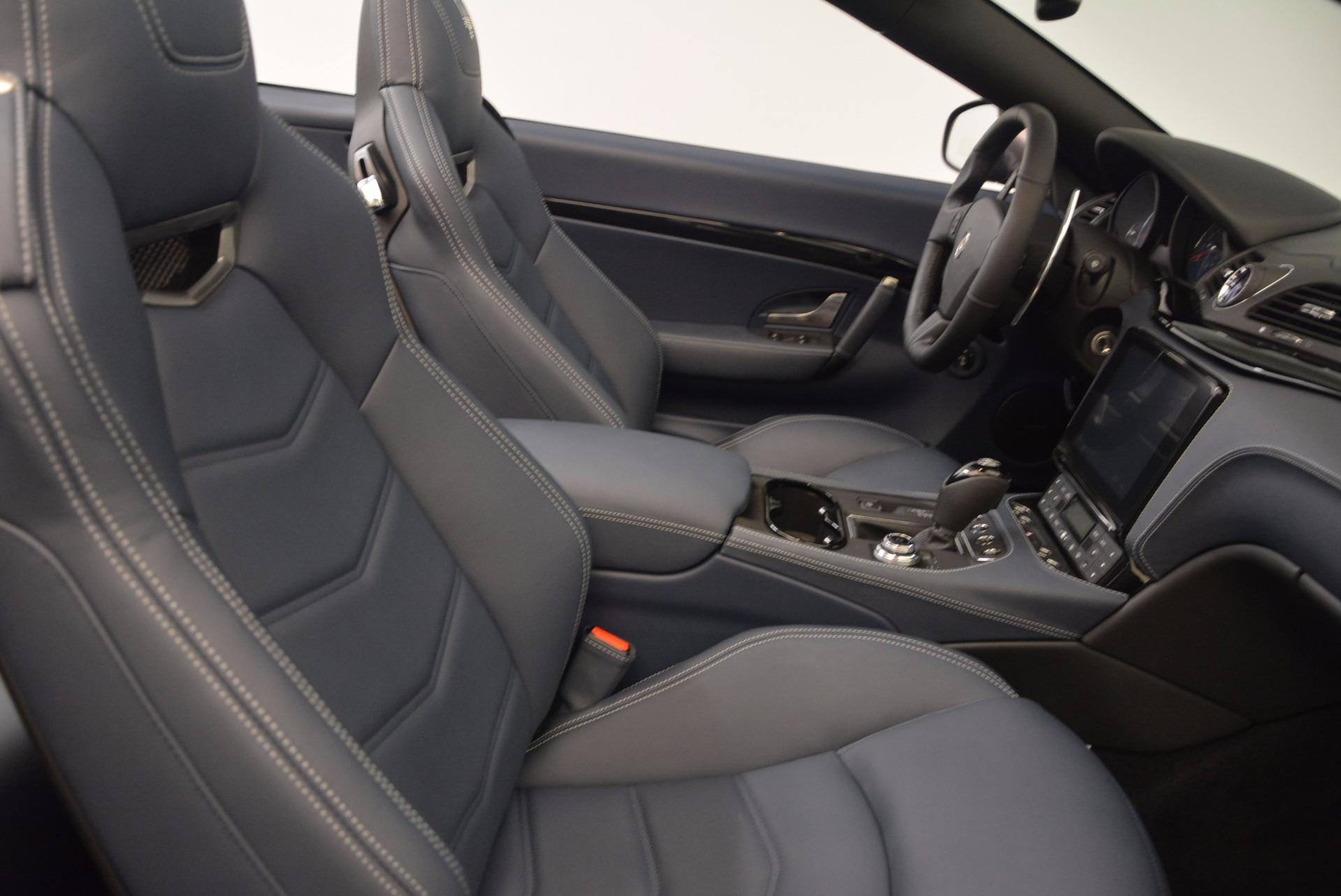 New 2018 Maserati GranTurismo Sport Convertible For Sale In Greenwich, CT 1703_p33