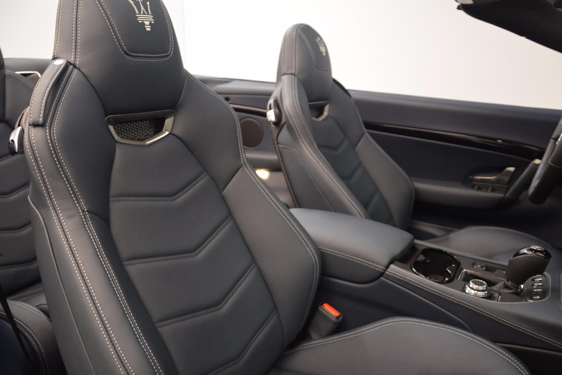 New 2018 Maserati GranTurismo Sport Convertible For Sale In Greenwich, CT 1703_p34