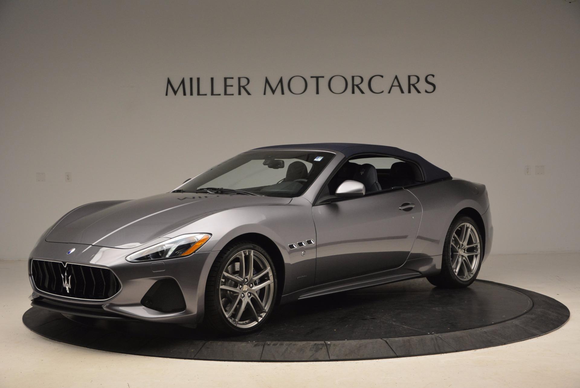 New 2018 Maserati GranTurismo Sport For Sale In Greenwich, CT 1707_p2